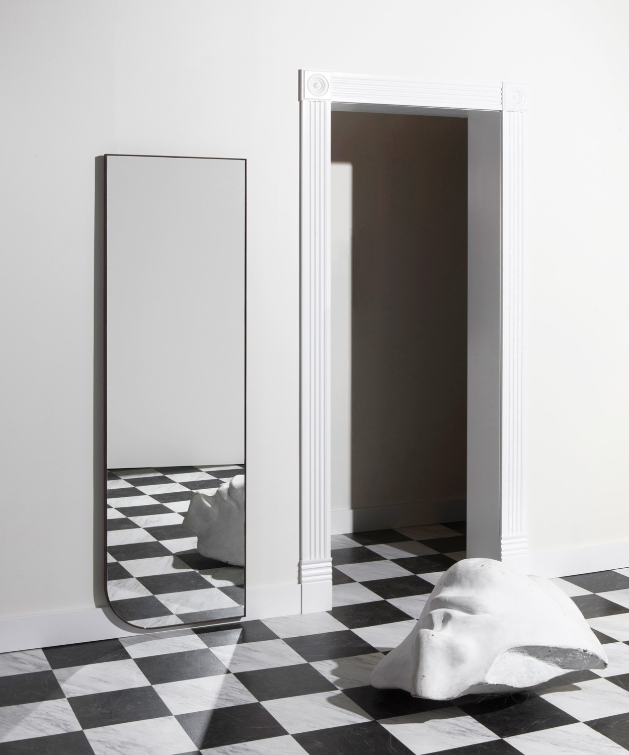 Well Known Decorative Full Length Wall Mirrors Pertaining To Full Quarter Mirror – Bower Studios (View 17 of 20)