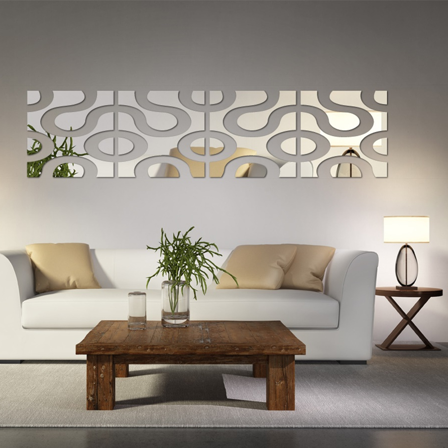 Featured Photo of Decorative Wall Mirrors For Living Room