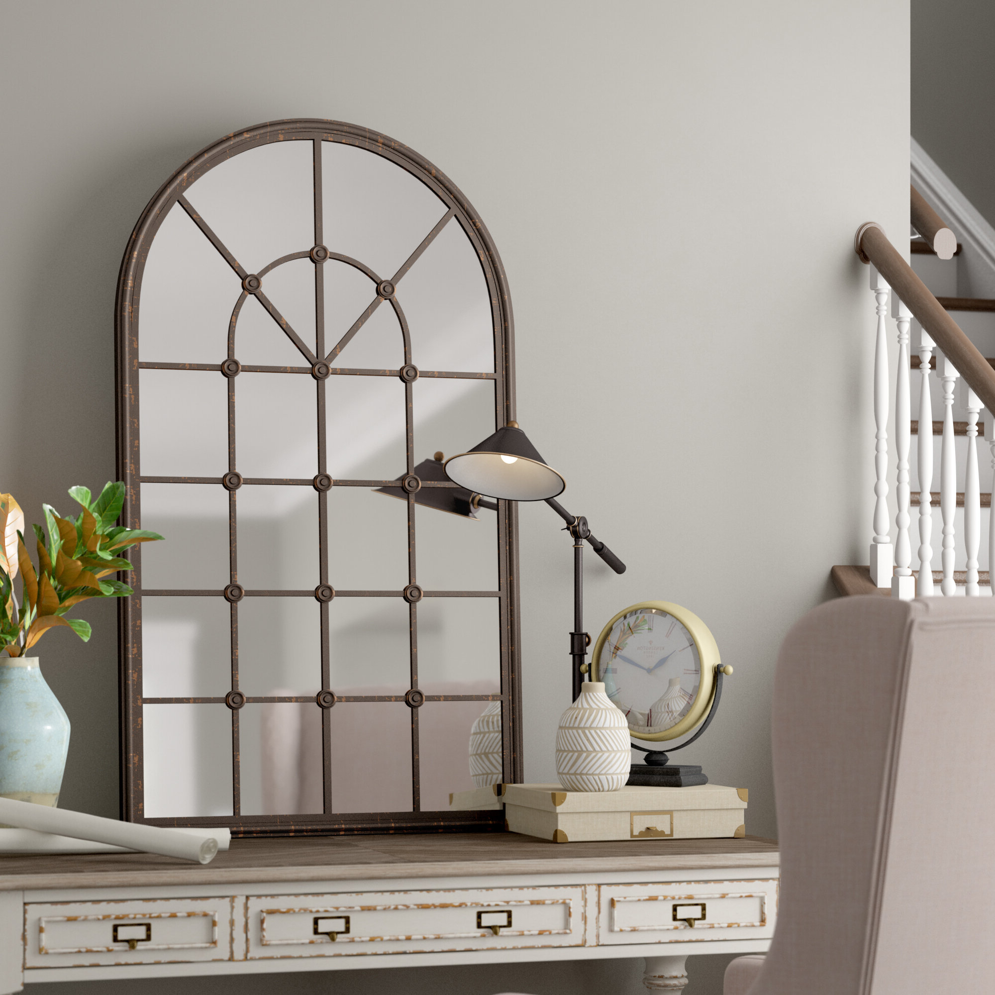 Well Known Della Accent Mirror With Phineas Wall Mirrors (View 19 of 20)