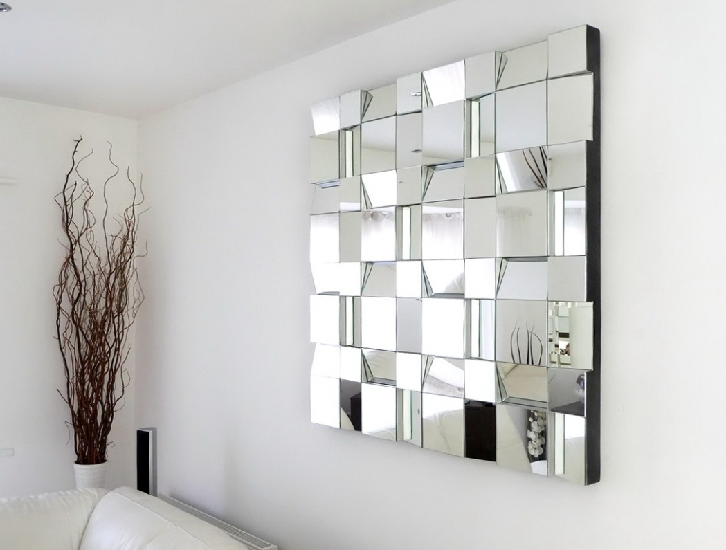 Well Known Designer Mirrors For Walls Ideas Also Decorative Bedroom Wall Fancy Intended For Large Fancy Wall Mirrors (View 6 of 20)