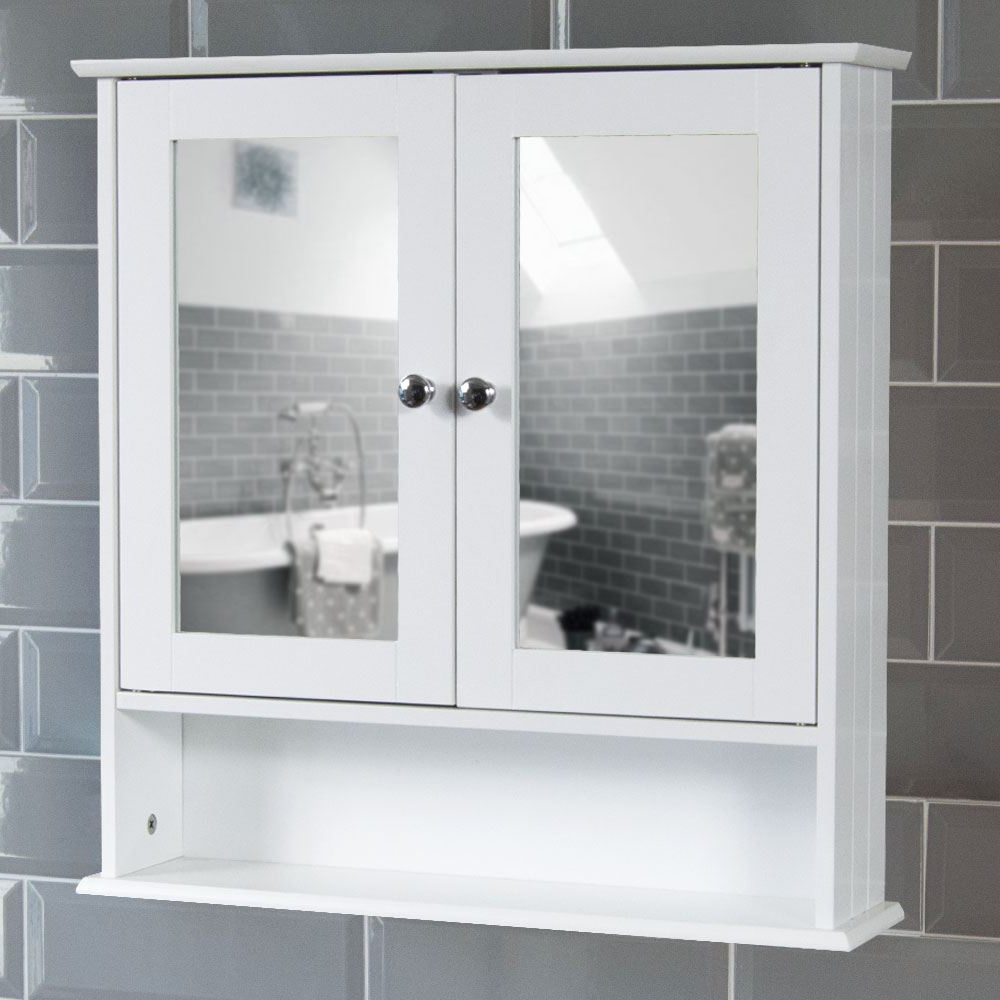 Featured Photo of Bathroom Wall Mirror Cabinets