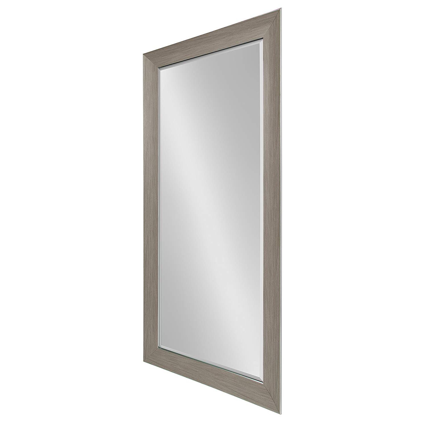 Well Known Extra Large Bevelled Edge Wall Mirrors Pertaining To Amazon: Kate And Laurel Tahoe Extra Large Beveled Wall Mirror (Gallery 12 of 20)