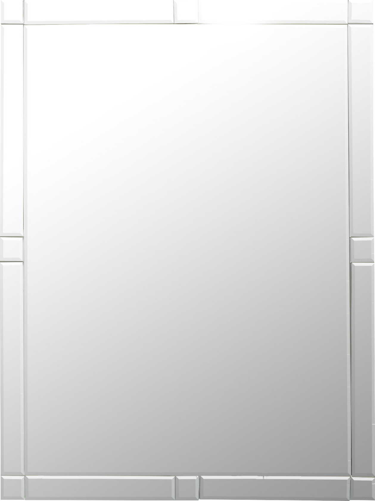 Well Known Frameless Wall Mirror Pertaining To Wallingford Large Frameless Wall Mirrors (View 20 of 20)