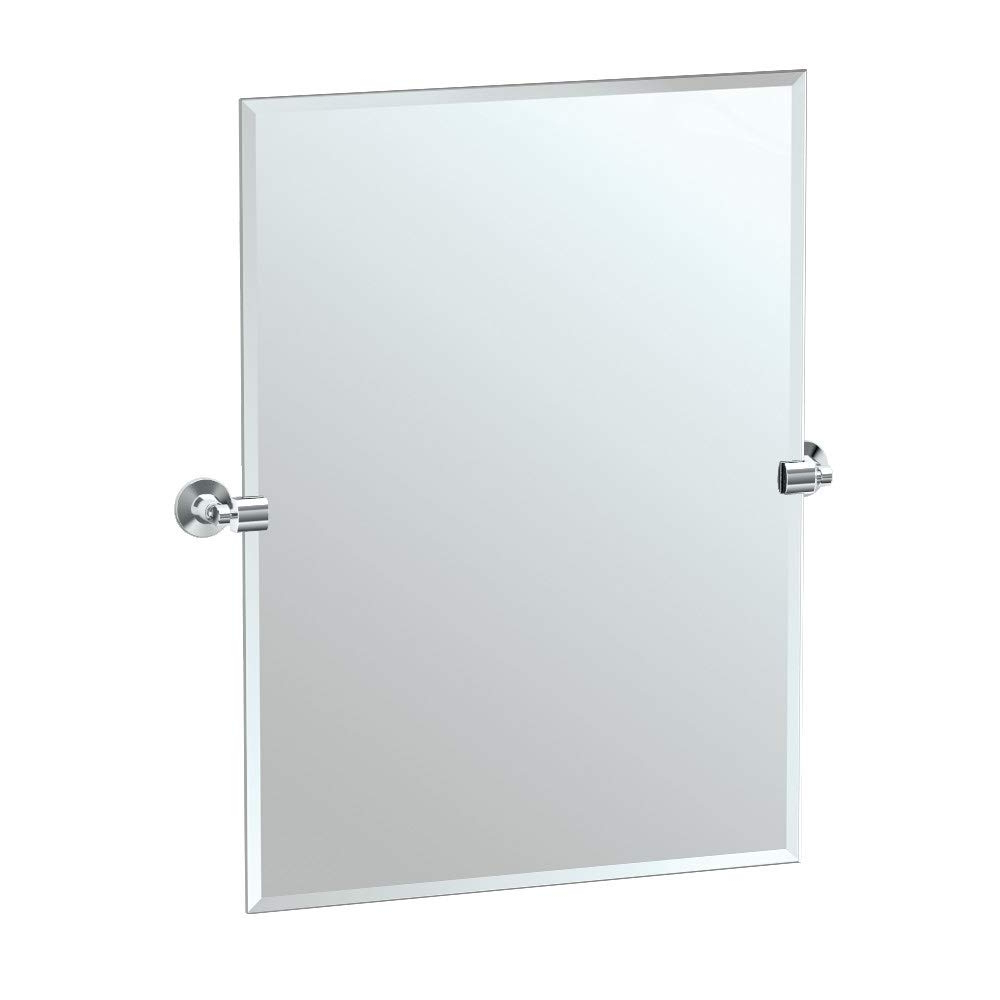 Well Known Gatco 4849S Max Tilting Wall Mirror, Chrome Throughout Tilting Wall Mirrors (View 20 of 20)
