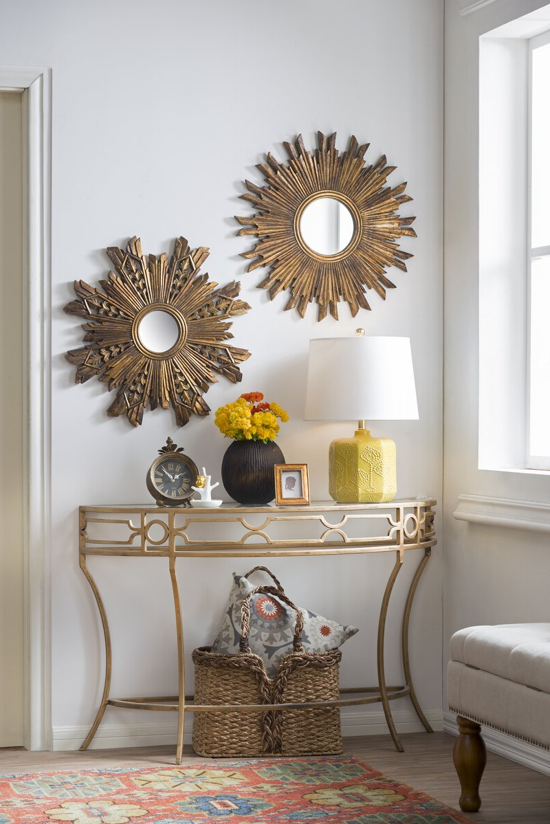 Well Known Harbert Modern And Contemporary Distressed Accent Mirrors Within Harbert Modern And Contemporary Distressd Accent Mirror (View 4 of 20)