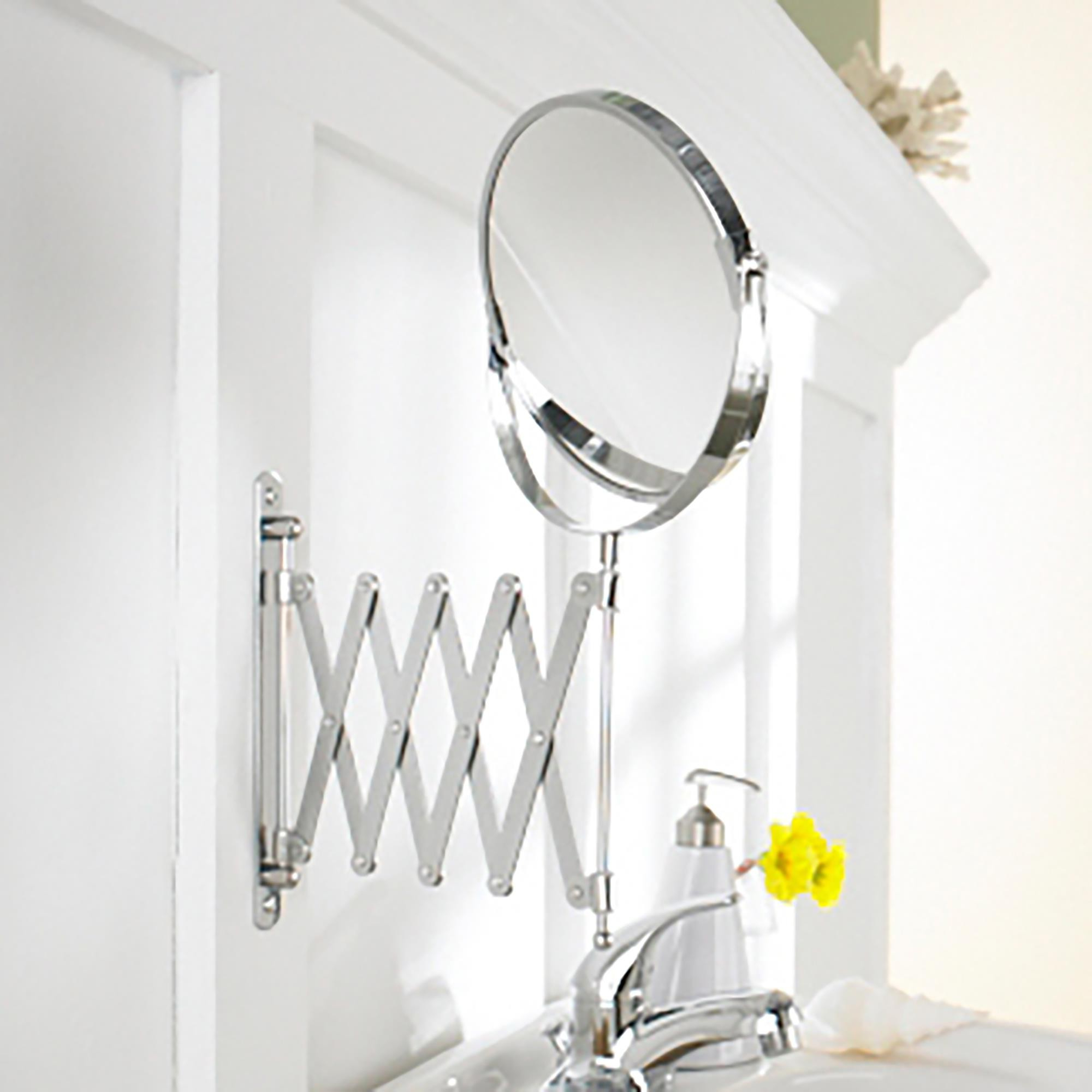 Well Known Harman Expandable Spa Mirror Pertaining To Accordion Wall Mirrors (Gallery 10 of 20)
