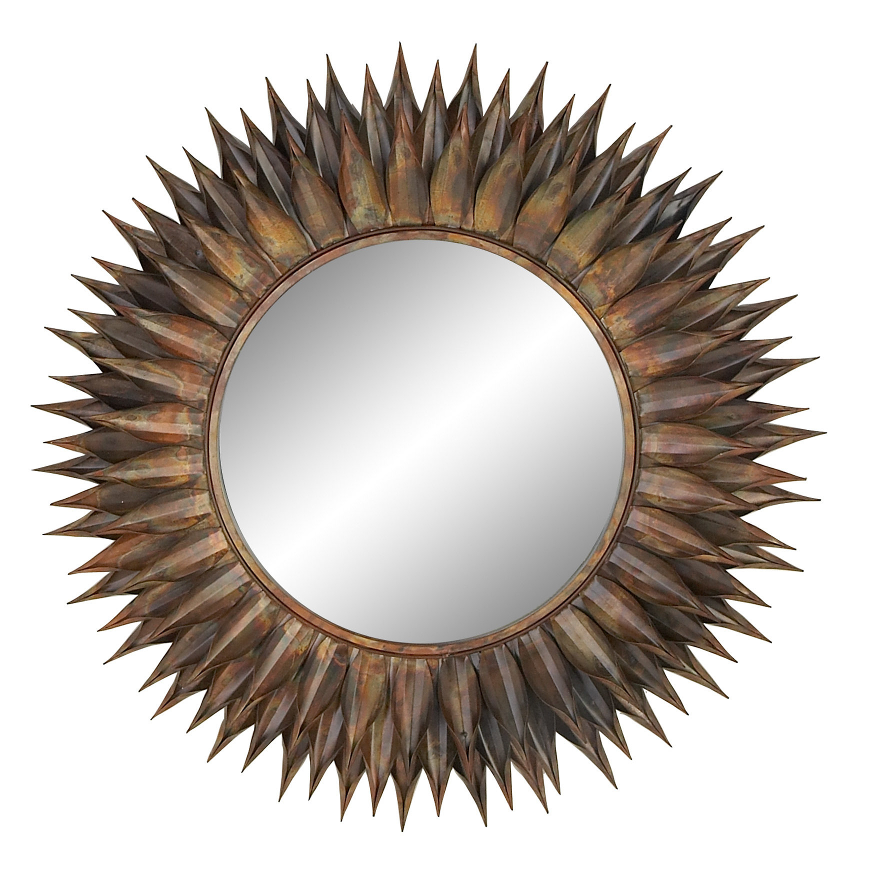 Well Known Heier Eclectic Accent Mirror Throughout Round Eclectic Accent Mirrors (View 17 of 20)