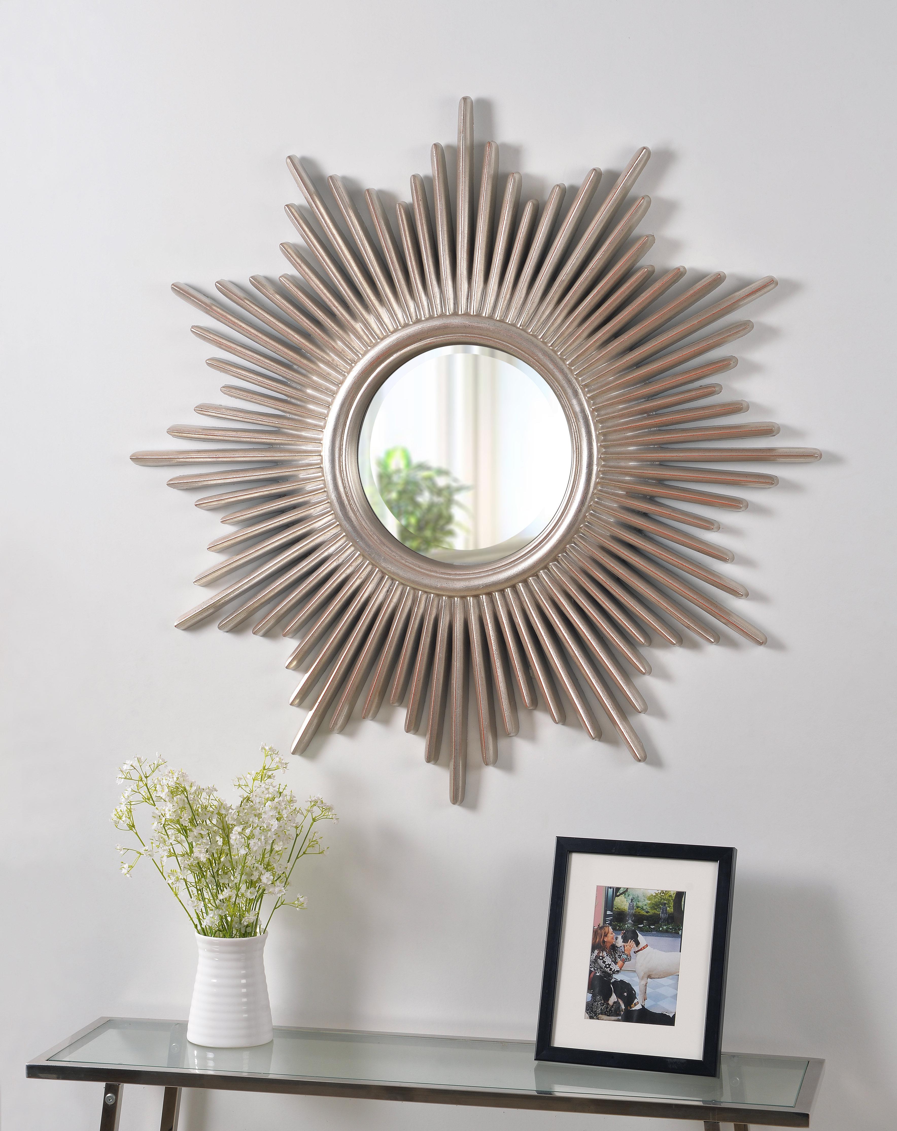 Featured Photo of Josephson Starburst Glam Beveled Accent Wall Mirrors