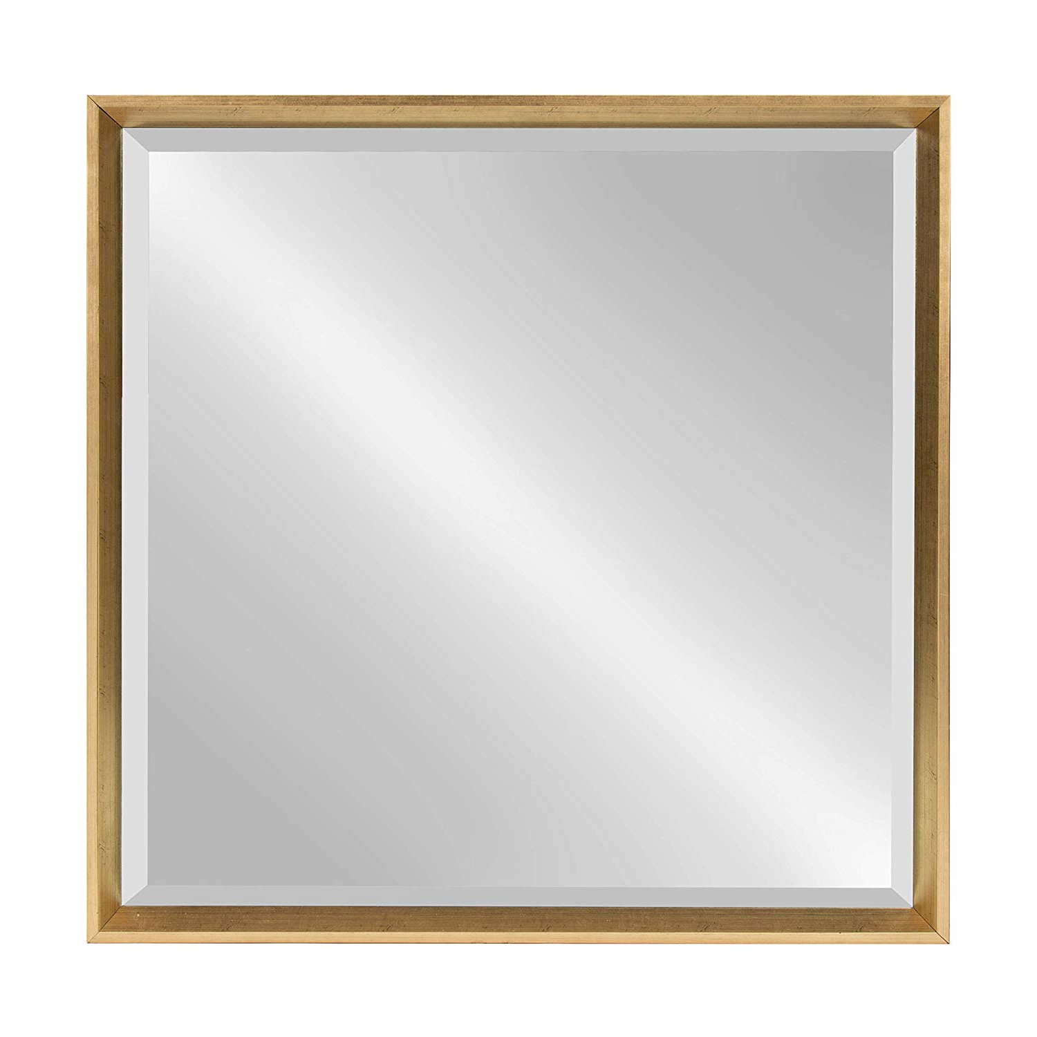 Well Known Kate And Laurel Calter Framed Wall Mirror 28X28 Gold In Inexpensive Large Wall Mirrors (View 20 of 20)
