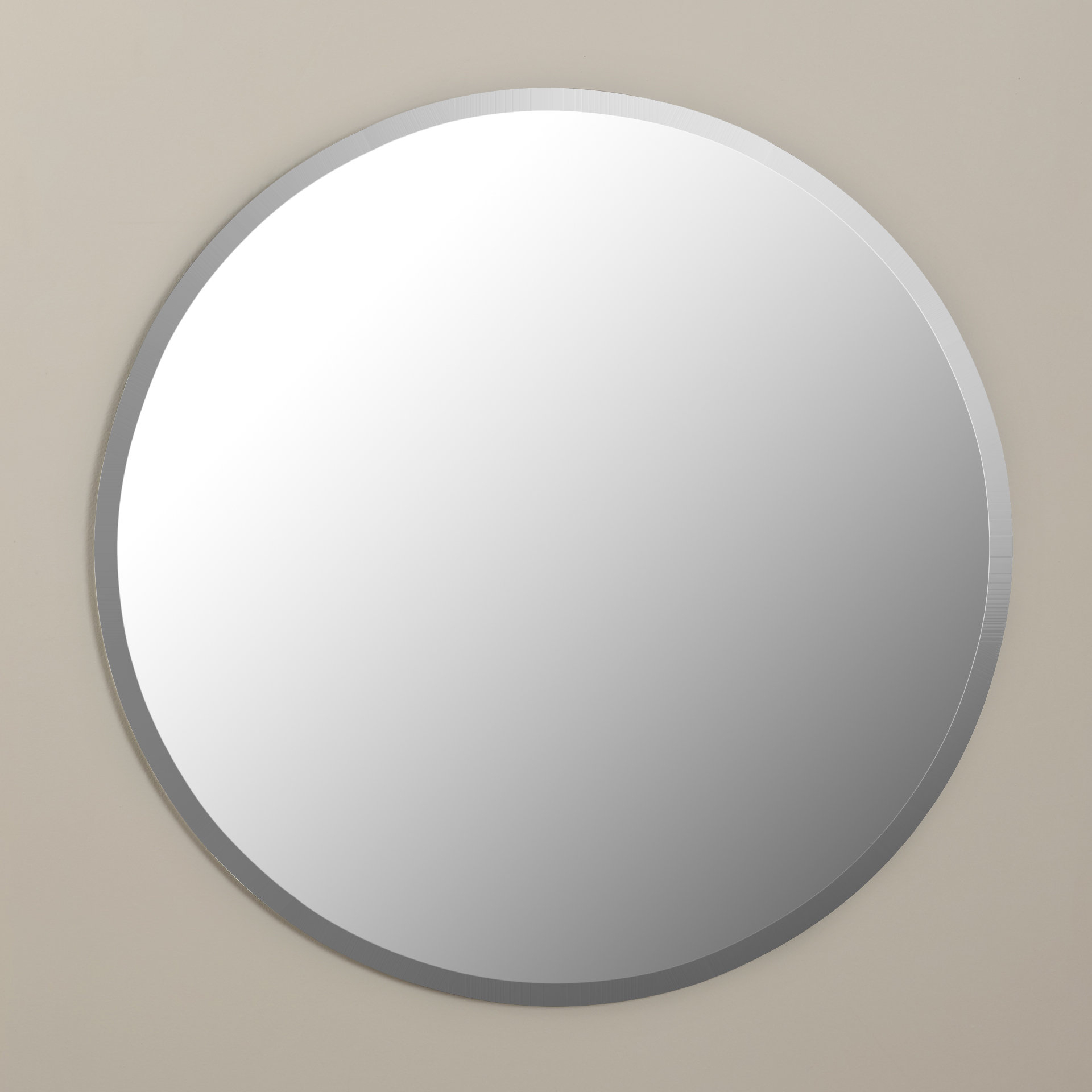 Well Known Kayden Accent Mirror In Celeste Frameless Round Wall Mirrors (View 8 of 20)