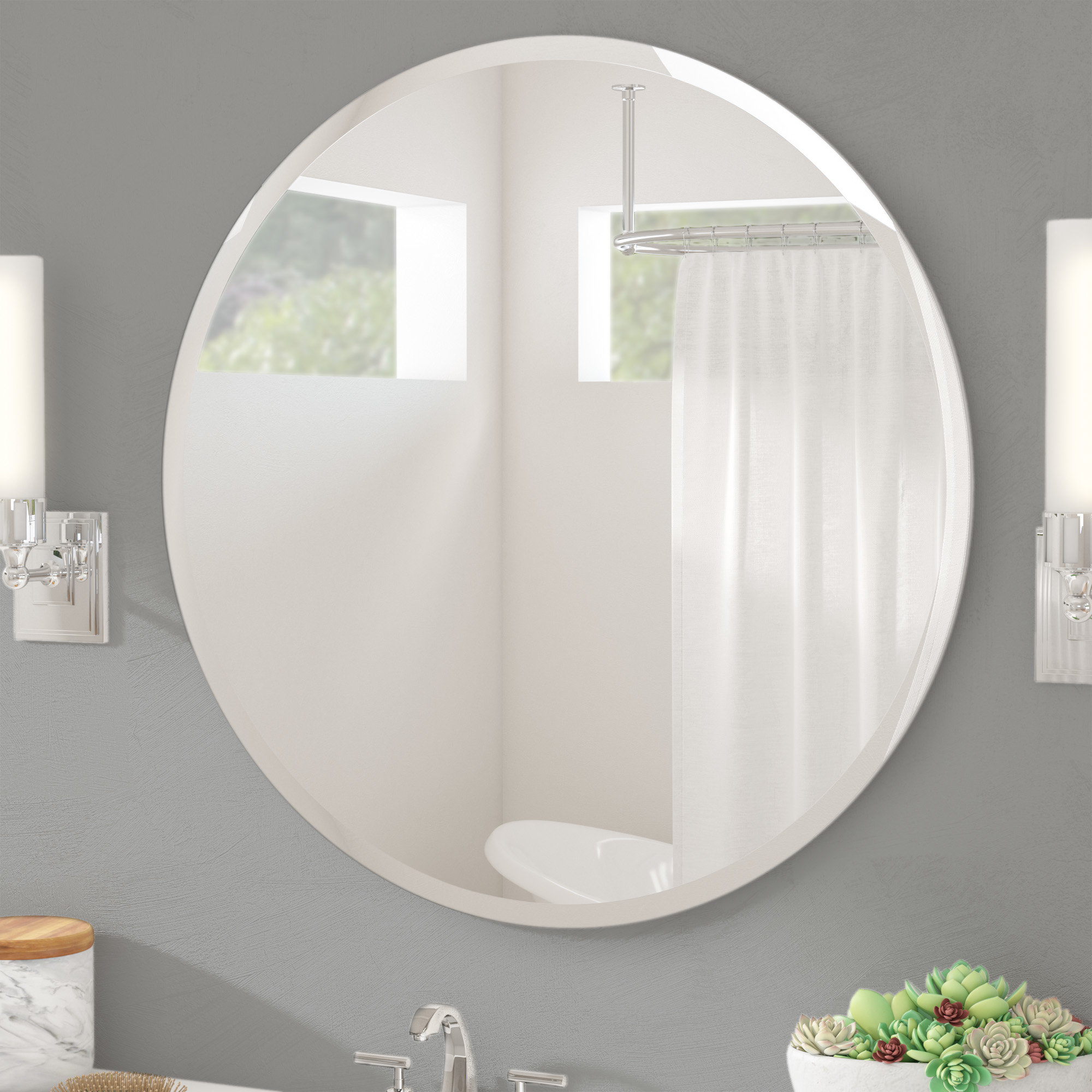 Well Known Kayden Accent Mirrors In Wade Logan Kayden Accent Mirror (View 6 of 20)