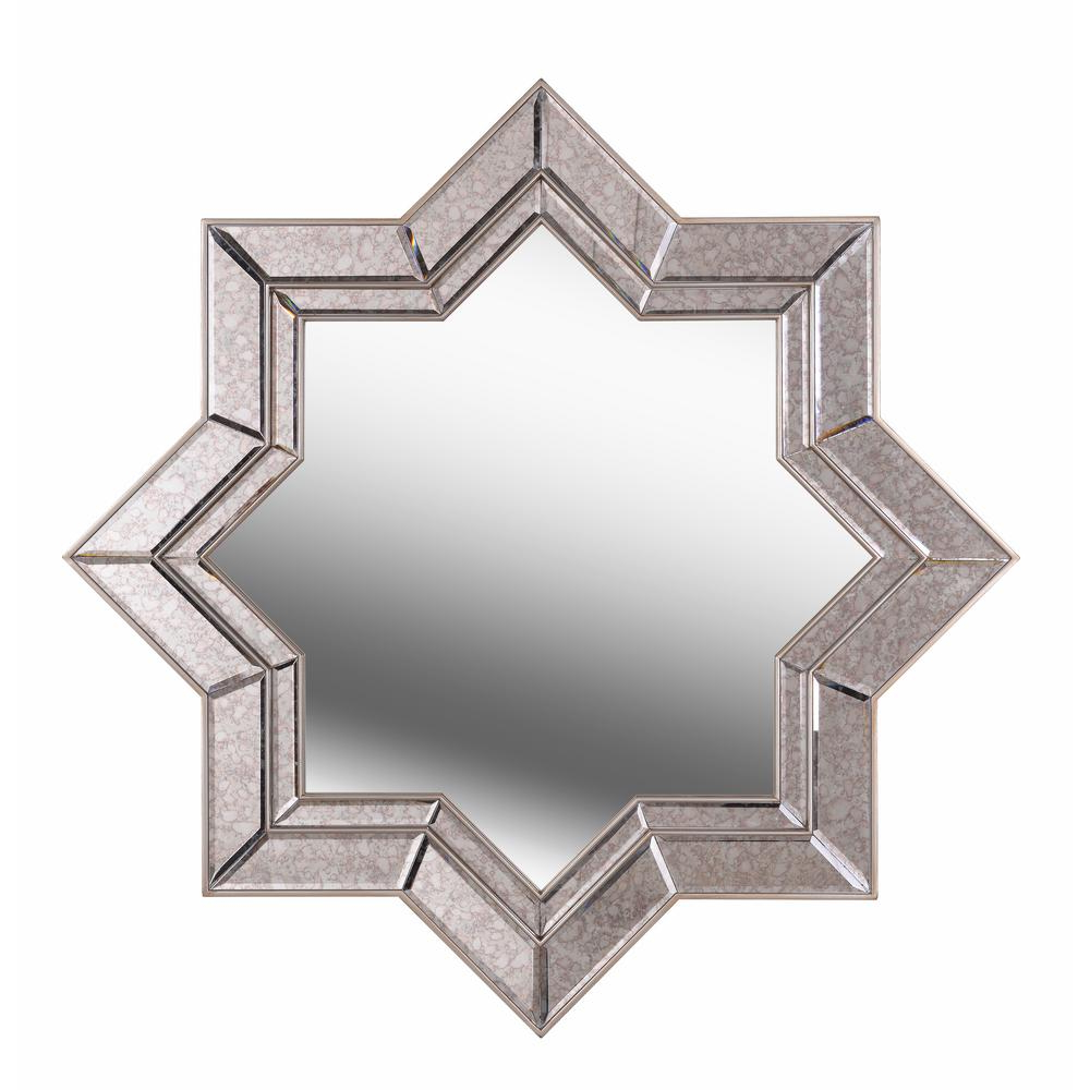Well Known Kenroy Home Polaris Star Champagne Wall Mirror 60421 – The For Star Wall Mirrors (View 15 of 20)