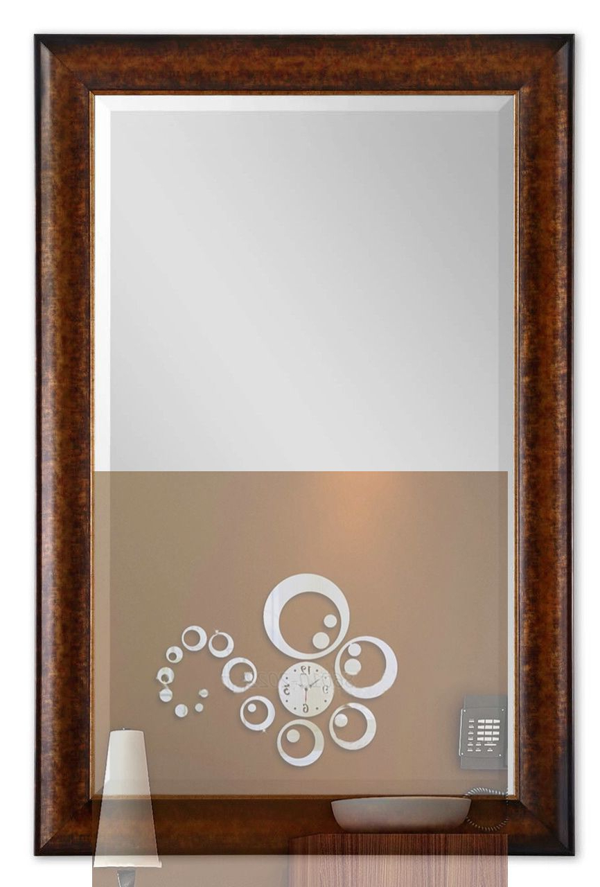 Well Known Large Wooden Wall Mirrors Intended For 12+ Gorgeous Luxury Wall Mirror Ideas (View 12 of 20)