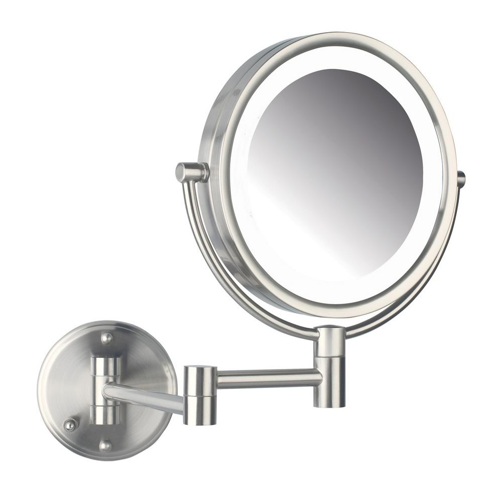 Well Known Lighted Vanity Wall Mirrors Pertaining To Jerdon 11 In. X 14 In (View 19 of 20)