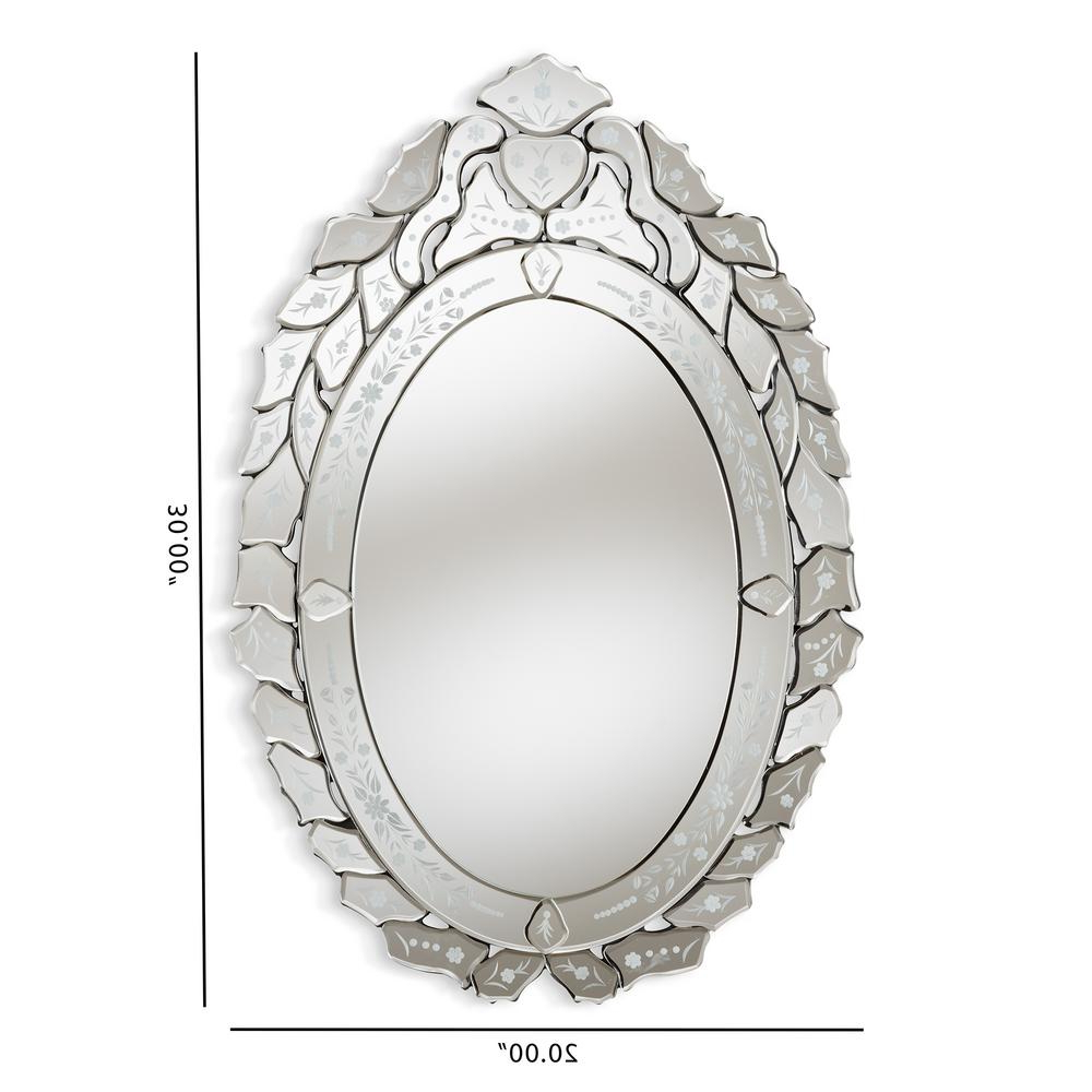 Well Known Livia Antique Silver Wall Mirror For Antique Silver Wall Mirrors (View 13 of 20)