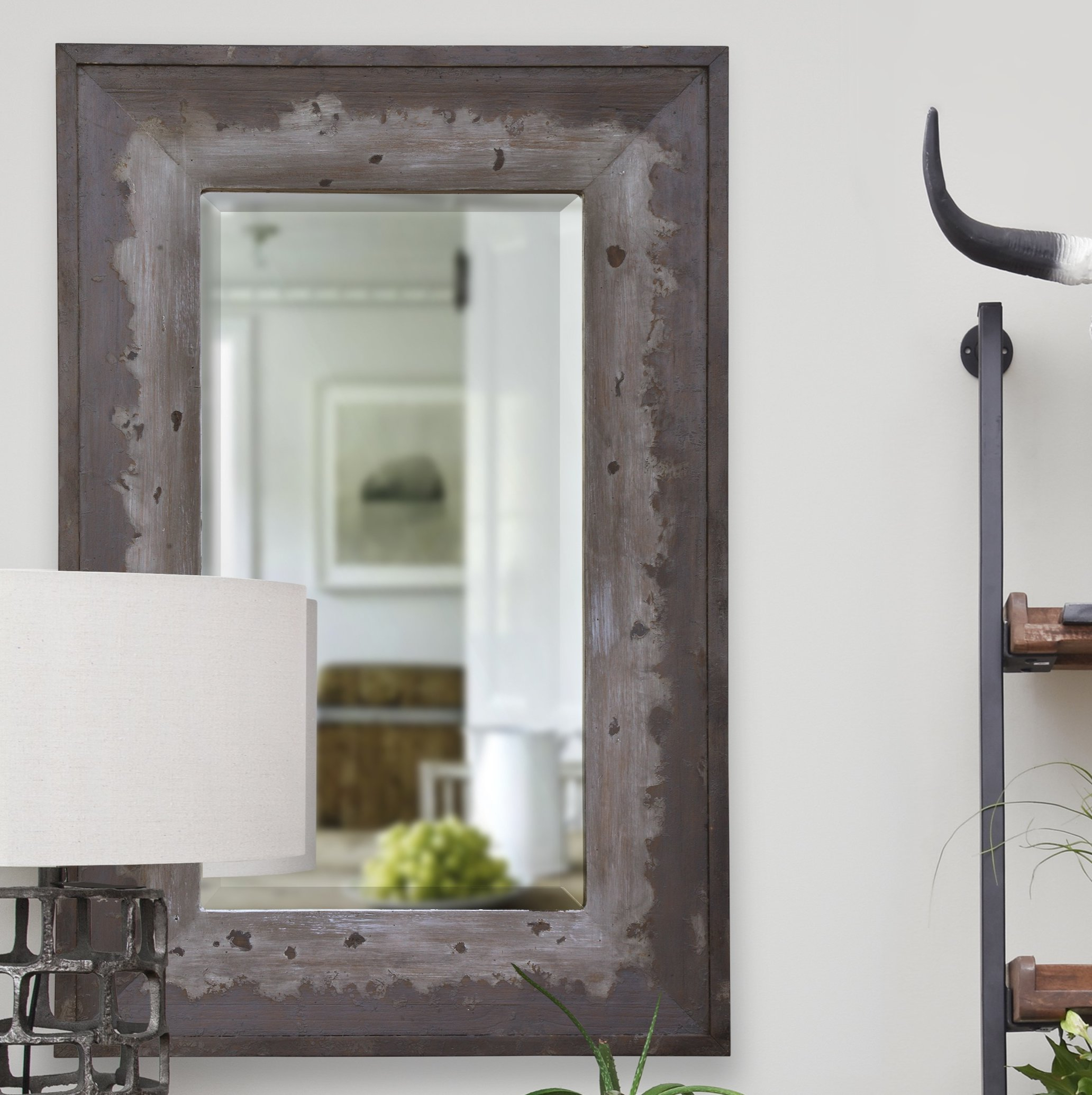 Well Known Longwood Rustic Beveled Accent Mirrors Intended For Cunningham Traditional Beveled Wall Mirror (View 6 of 20)