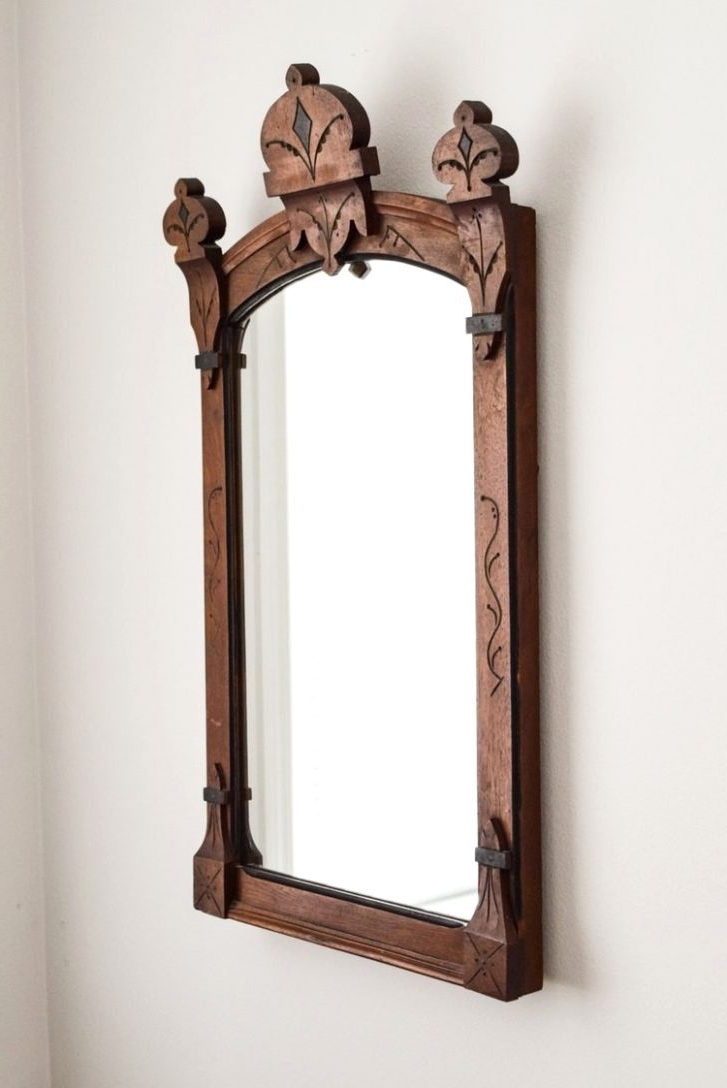 Well Known Lovely Antique Wood Framed Mirrors – Brewsavant.club With Regard To Josephson Starburst Glam Beveled Accent Wall Mirrors (Gallery 20 of 20)
