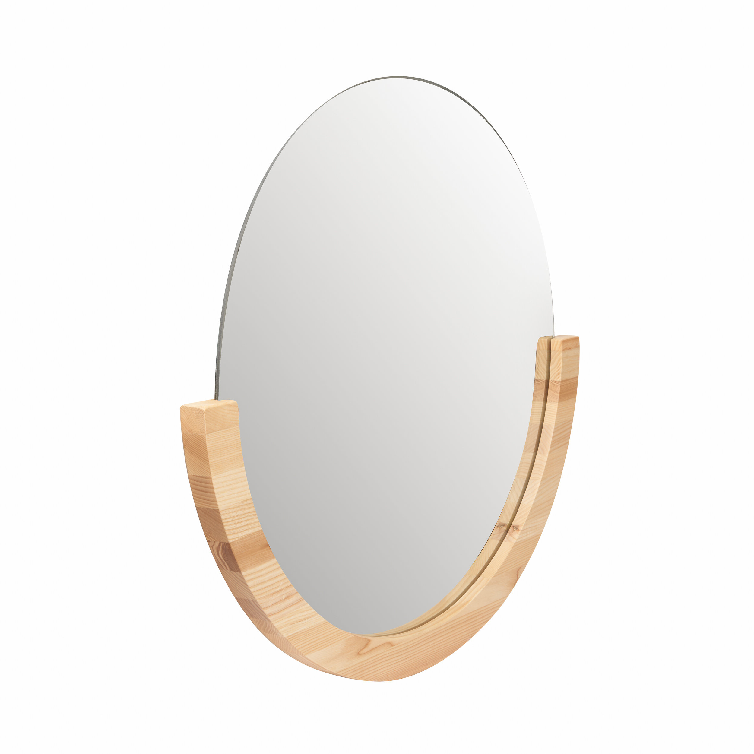 Well Known Mira Accent Mirror Inside Yedinak Modern Distressed Accent Mirrors (View 15 of 20)