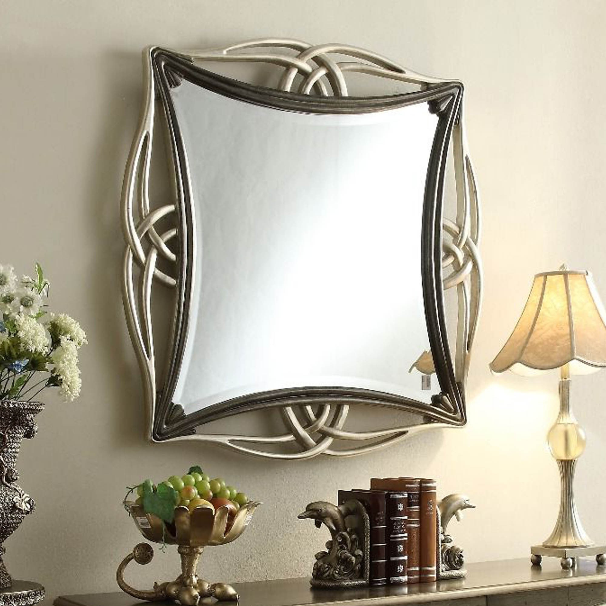 Well Known Modern Contemporary Wall Mirrors Throughout Adele Contemporary Wall Mirror (View 17 of 20)