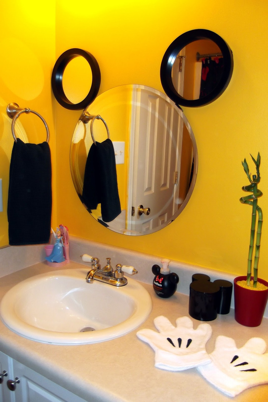 Well Known My Mickey Mouse Bathroom – Tips From The Disney Divas And Devos With Regard To Mickey Mouse Wall Mirrors (View 4 of 20)