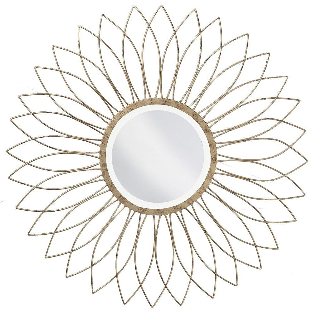 Well Known Orion Starburst Wall Mirrors Intended For Charlese Round Wall Mirror (View 20 of 20)