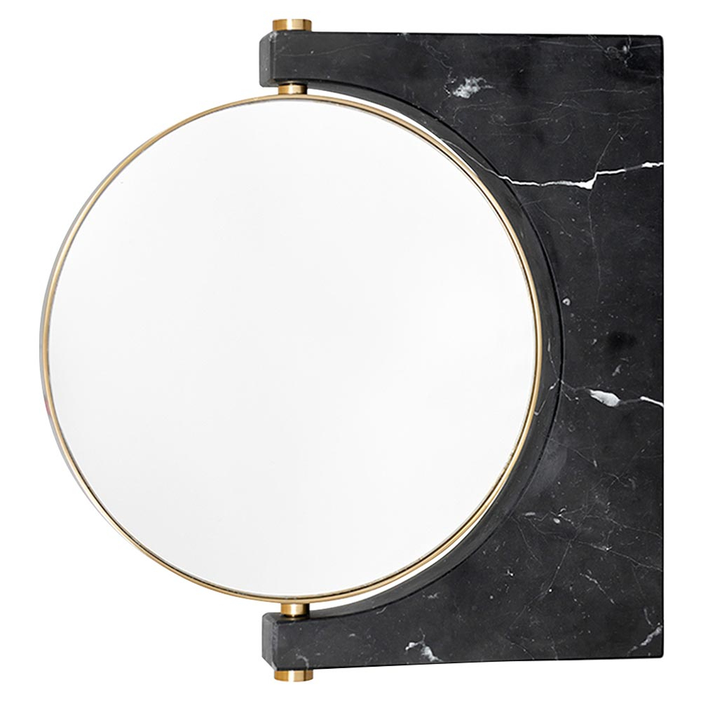 Well Known Pepe Wall Mirror – Gold, Black Marble For Black Wall Mirrors (View 17 of 20)