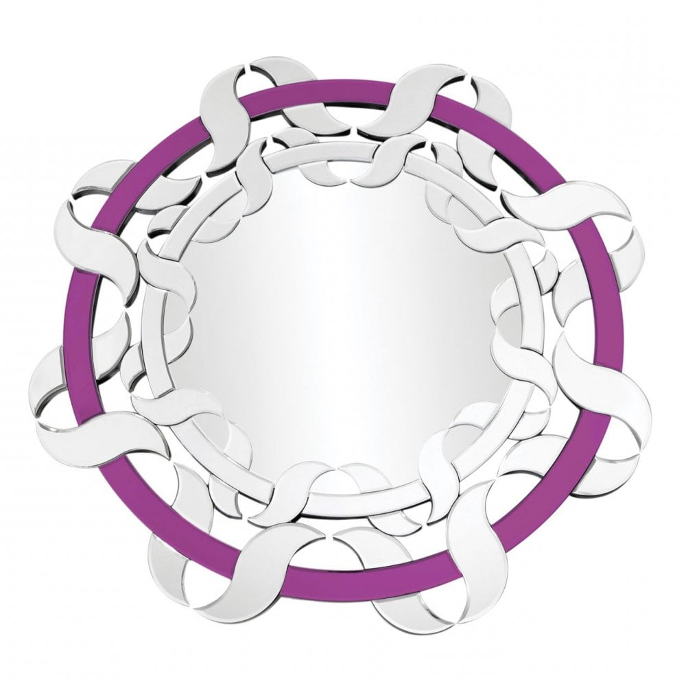 Well Known Purple Wall Mirrors For Clanbay Wall Mirror, Mirrored, Purple (View 18 of 20)