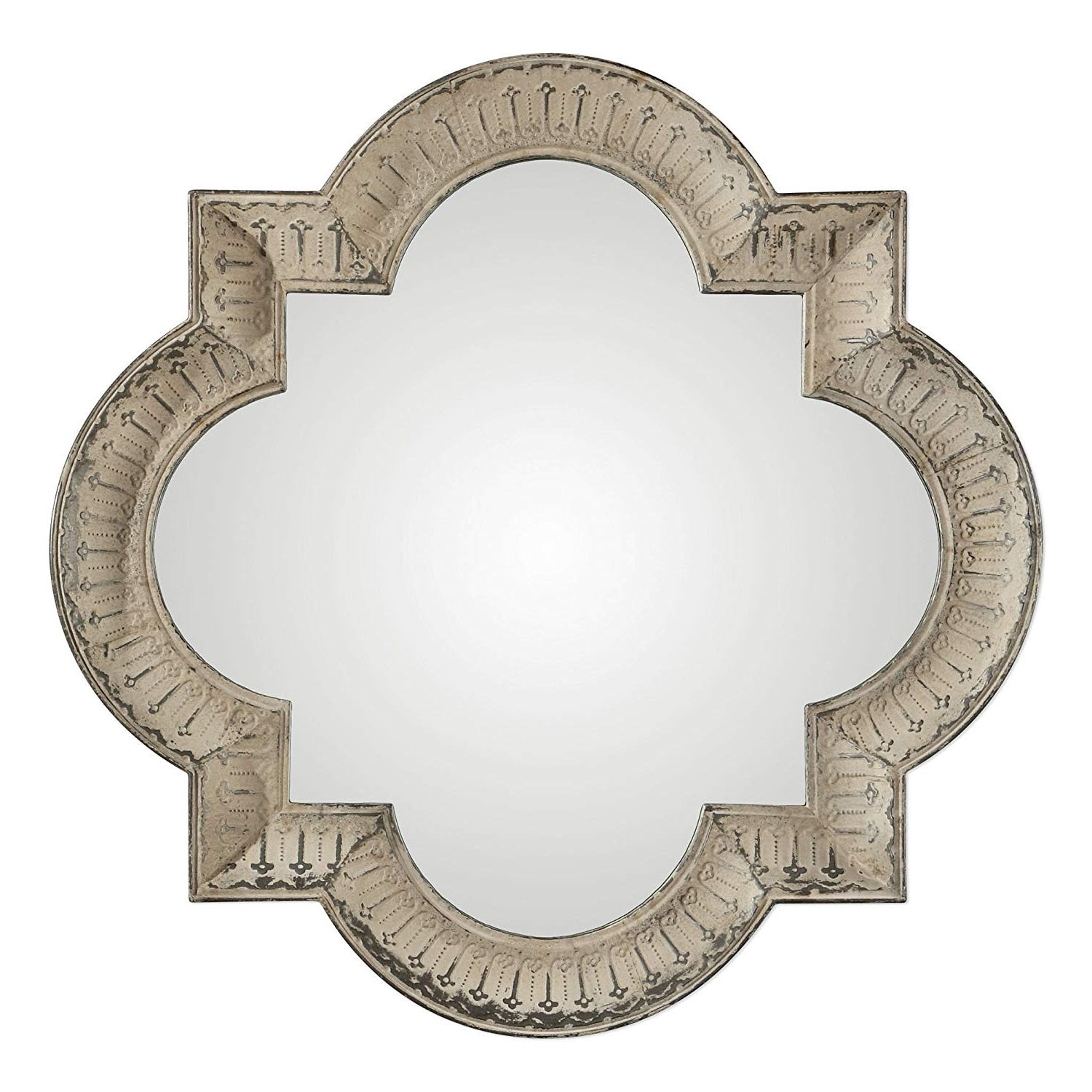 """Well Known Quatrefoil Wall Mirrors In Amazon: My Swanky Home Extra Large 54"""" Quatrefoil Square (View 18 of 20)"""