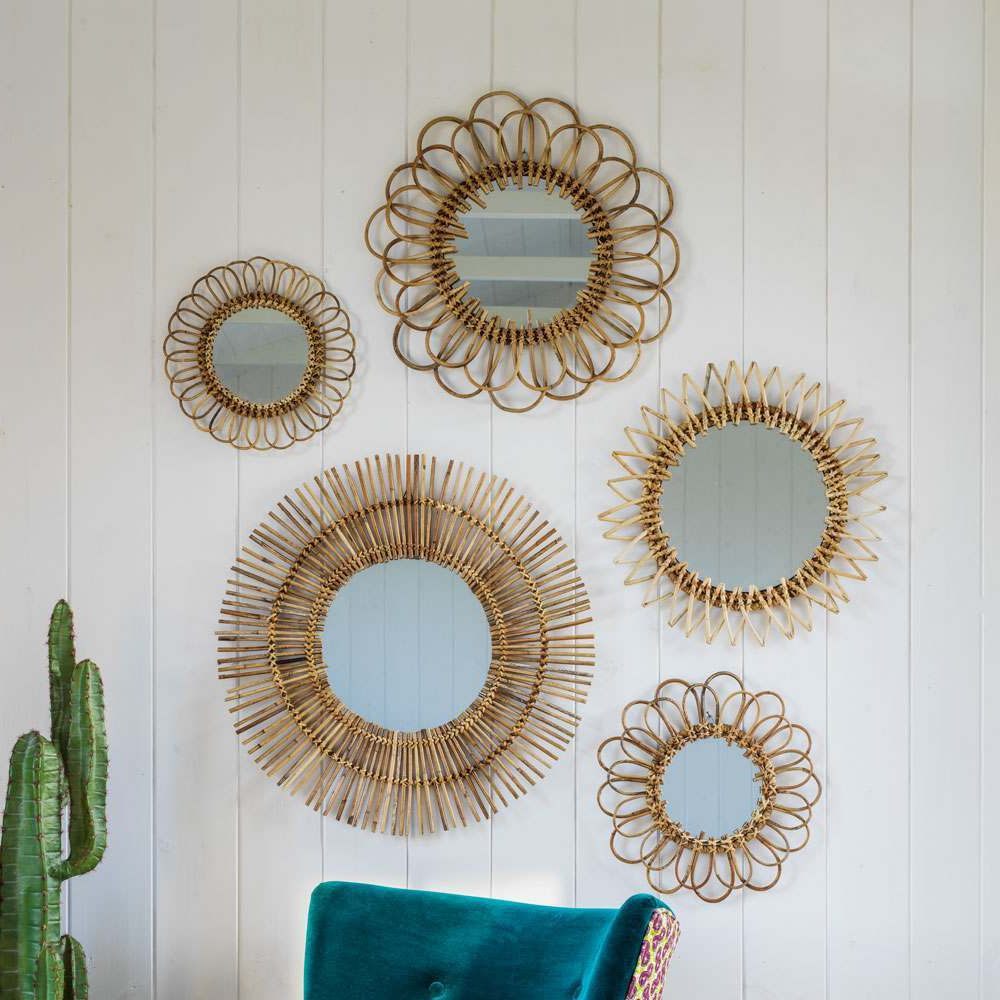 Featured Photo of Rattan Wall Mirrors