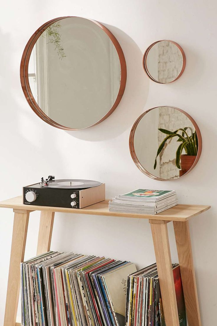Well Known Small Decorative Wall Mirror Sets Regarding Mirrors Stunning Set Of Three Round Wall Mirror Sets (View 20 of 20)