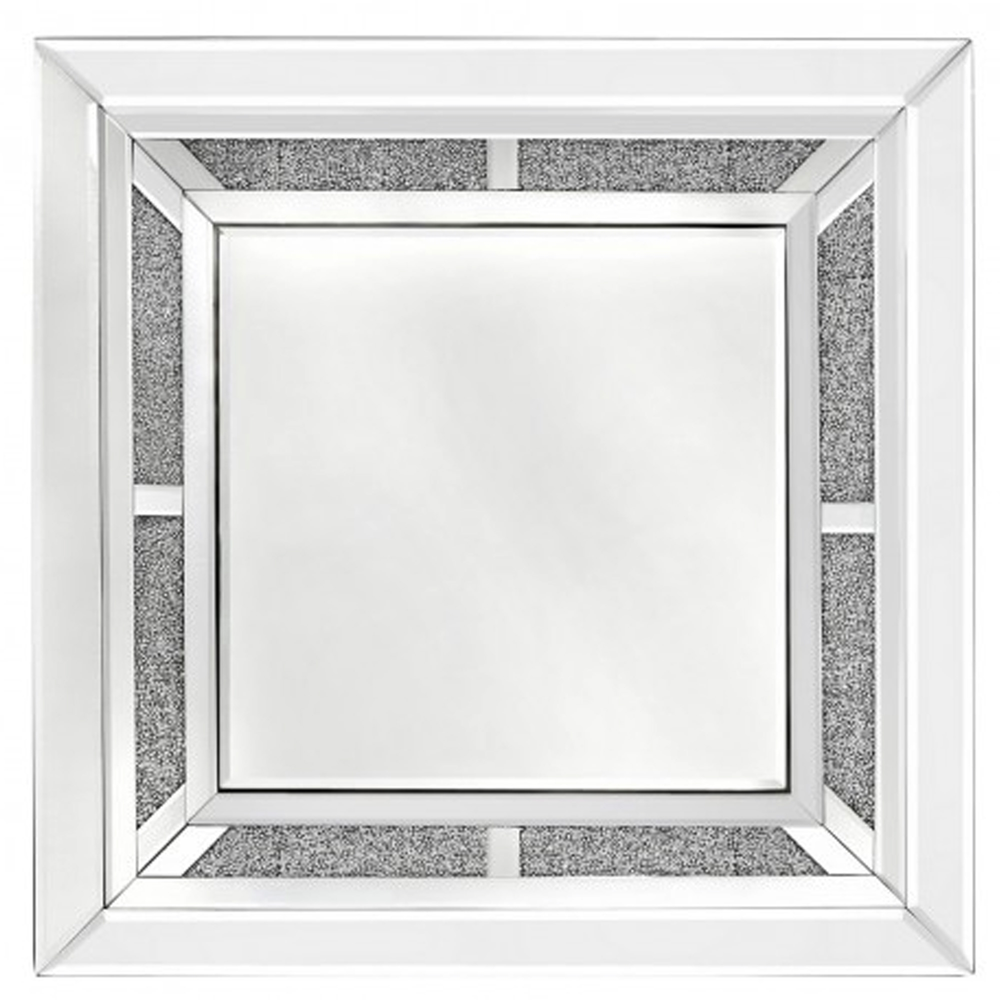 Well Known Square Wall Mirrors With Regard To Siena Mirrored Wall Mirror (View 18 of 20)