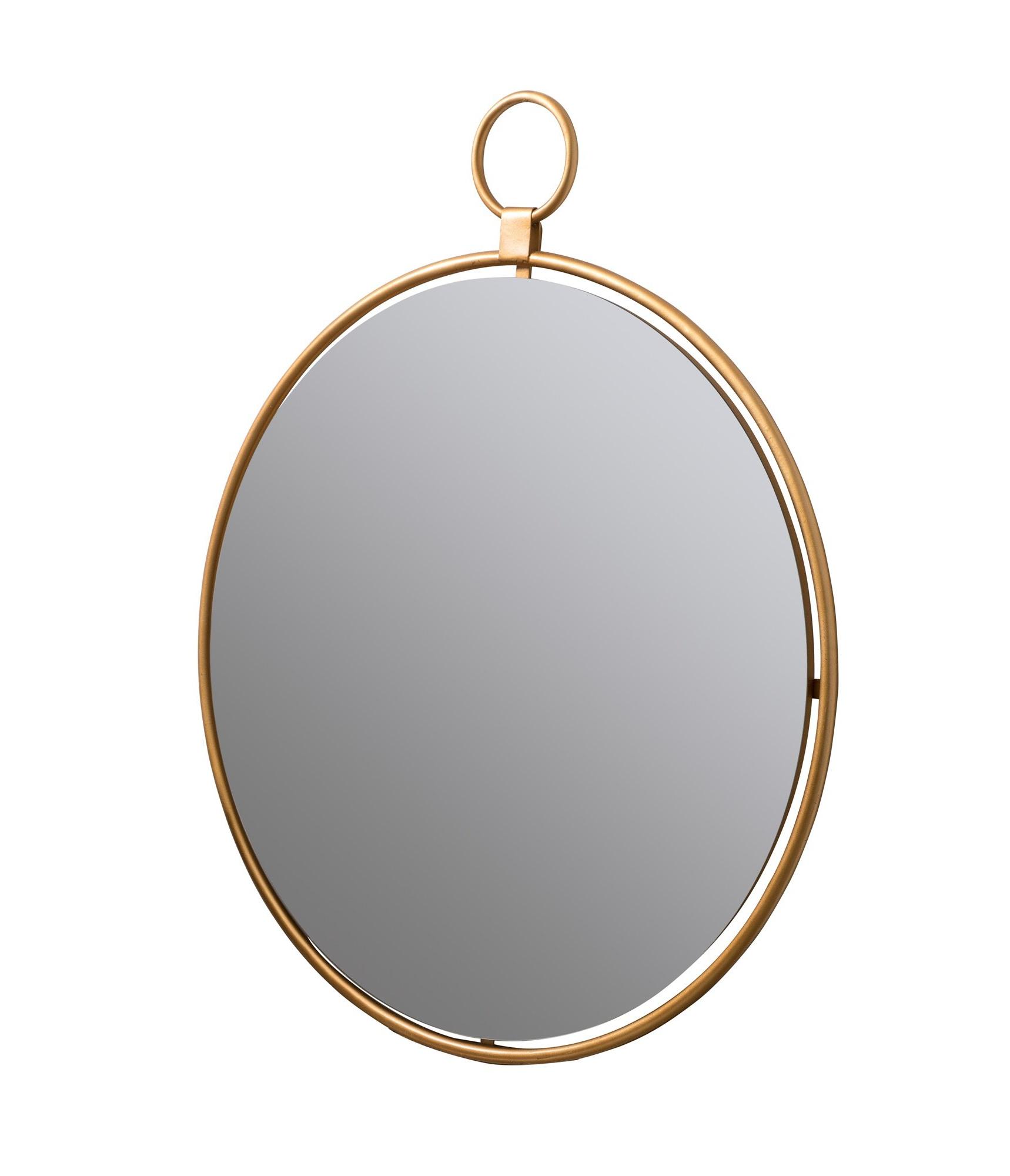 Well Known Tanner Accent Mirrors Regarding Matthias Round Accent Mirror (View 20 of 20)