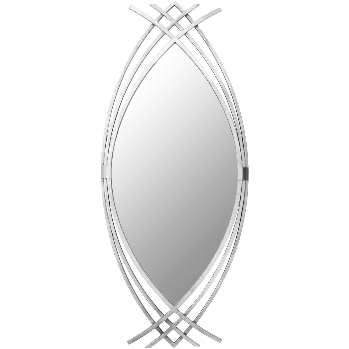 Well Known Toulon Oval Wall Mirror Throughout Oval Wall Mirrors (View 20 of 20)