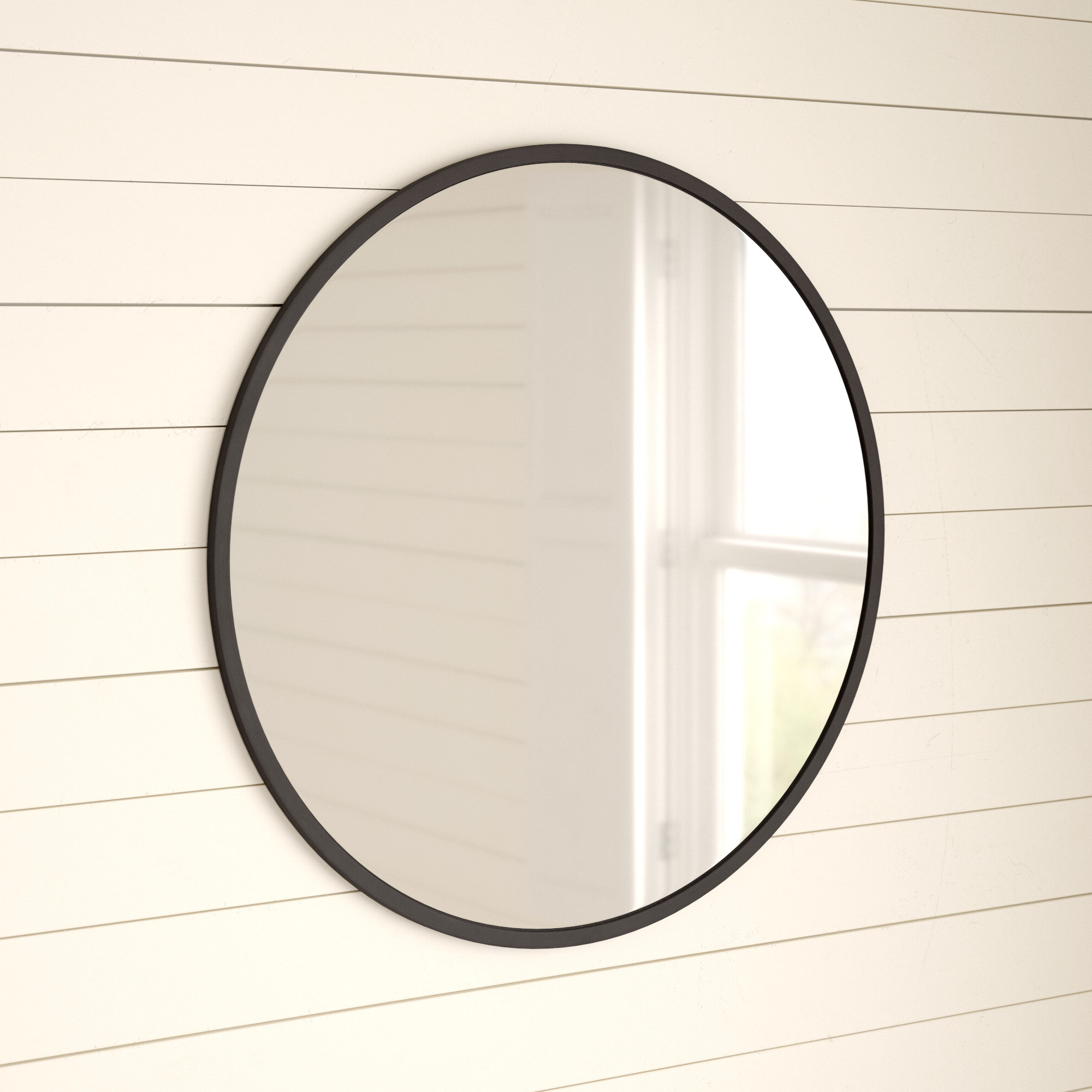 Well Known Umbra Hub Modern And Contemporary Accent Mirror Regarding Hub Modern And Contemporary Accent Mirrors (Gallery 18 of 20)
