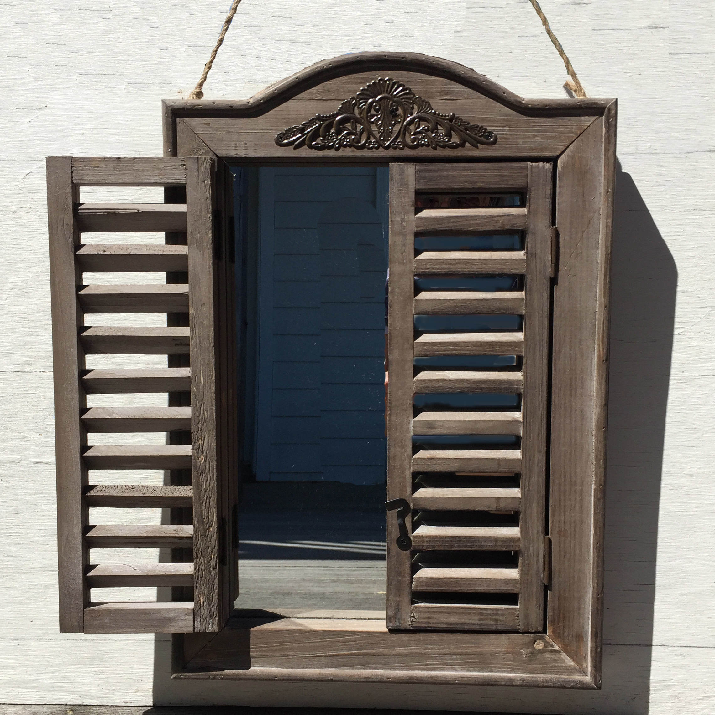 Well Known Wall Mirrors With Shutters Intended For Bellwood Wall Mirror (View 18 of 20)