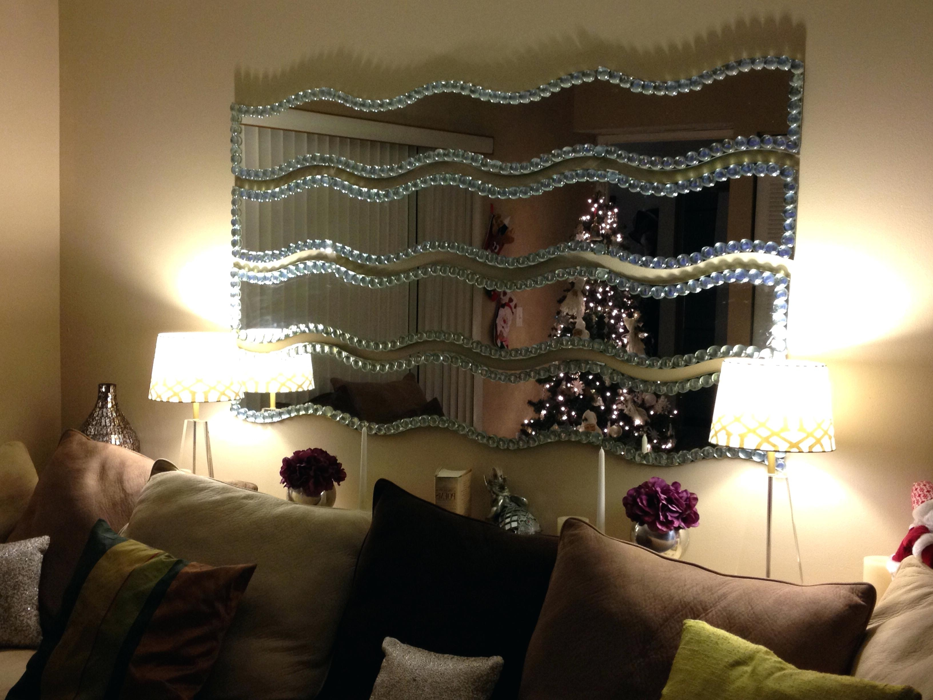 Well Known Wavy Wall Mirrors Throughout Wavy Wall Mirror Strips • Bathroom Mirrors And Wall Mirrors (View 5 of 20)