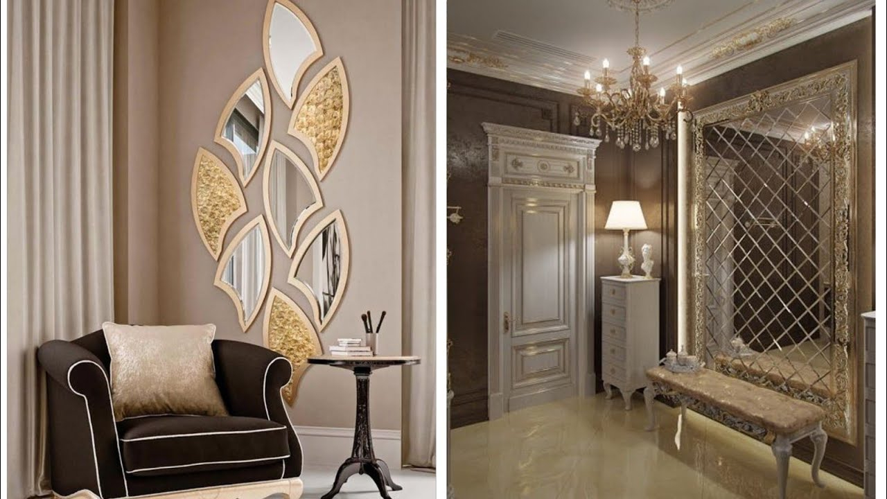 Well Liked 3d Wall Mirror Interior Decor Ideas Inside Decorative Wall Mirrors For Living Room (View 19 of 20)