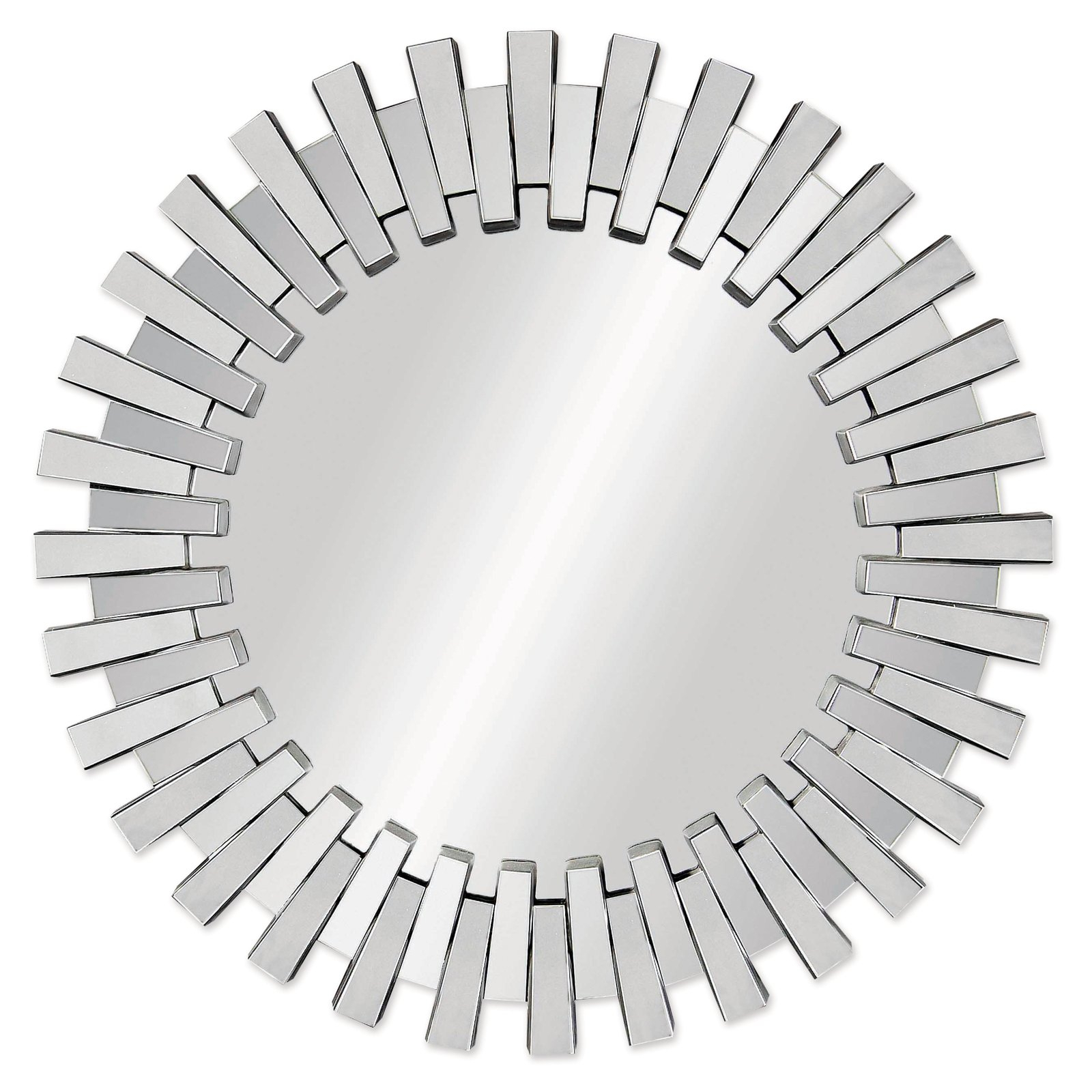 Well Liked Afina Modern Luxe Round Wall Mirror Printer Sandy Errotica Intended For Gilbert Wall Mirrors (View 8 of 20)