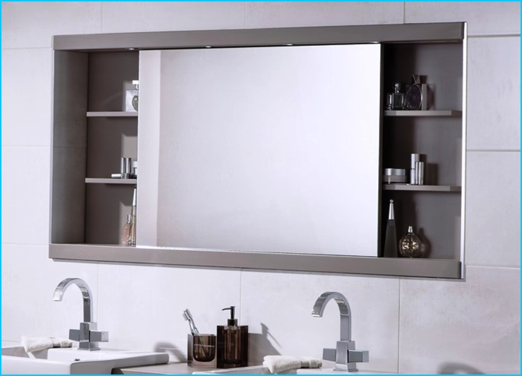 Well Liked Alluring Extra Large Bathroom Wall Mirror Wickes Shelves Homebase With Bathroom Wall Mirror Cabinets (View 20 of 20)