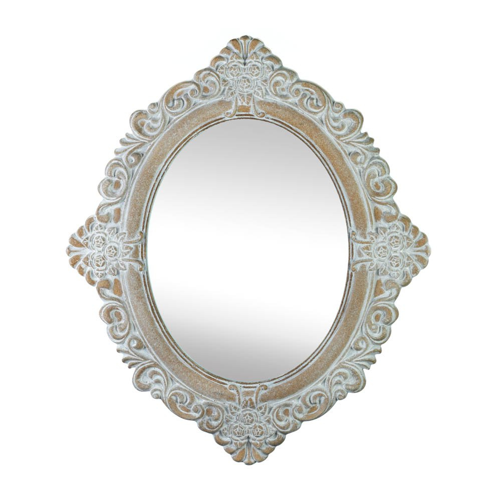 Well Liked Amazon: Accent Plus Wall Mirrors Decorative, Oval Large Antique Regarding Large Vintage Wall Mirrors (View 13 of 20)
