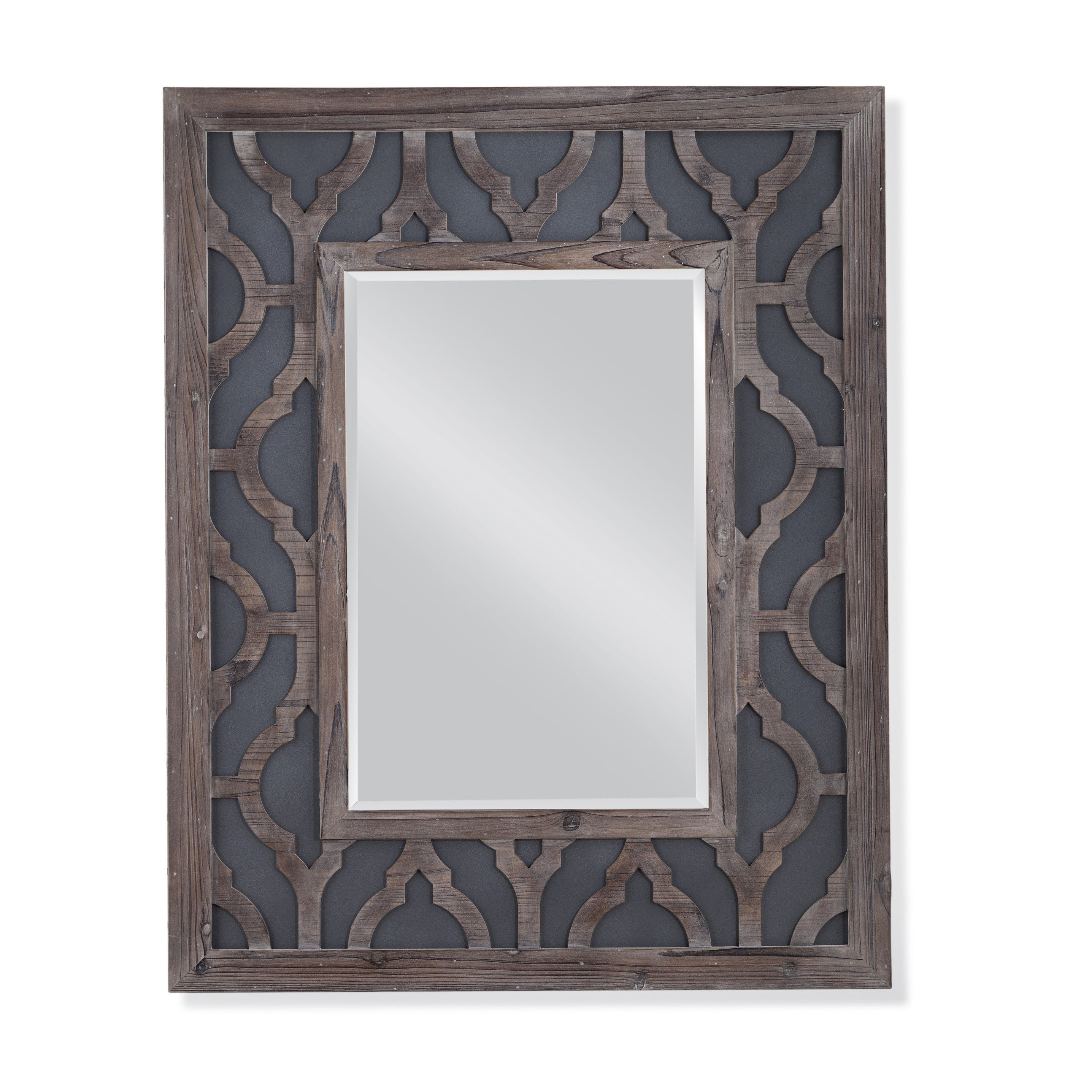Well Liked Bassett Mirror Lavanne Wall Mirror With Grey Frame Inside Bassett Wall Mirrors (View 12 of 20)