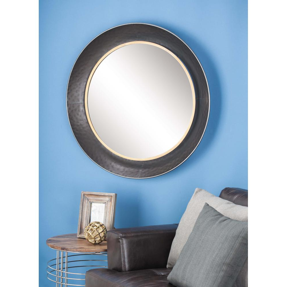 Well Liked Blue Framed Wall Mirrors Throughout 32 In (View 19 of 20)