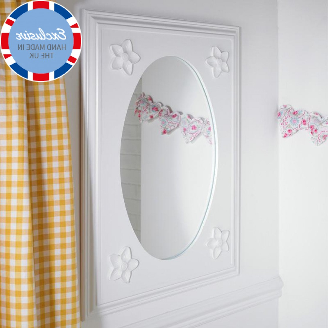 Well Liked Daisy Childrens Wall Mirror Inside Children Wall Mirrors (View 2 of 20)