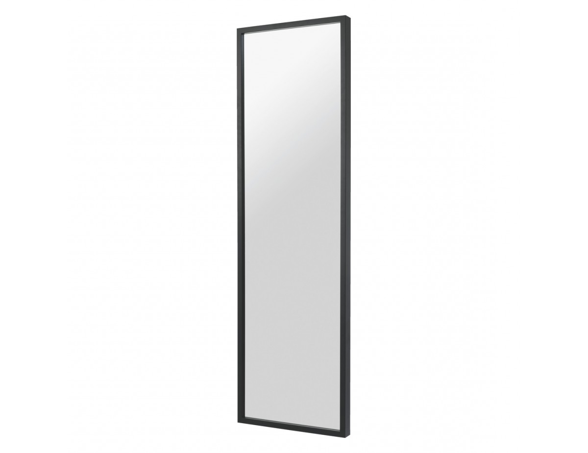 Well Liked Dark Birch 40 X 140cm Black Full Length Wall Mirror Throughout Full Wall Mirrors (View 18 of 20)