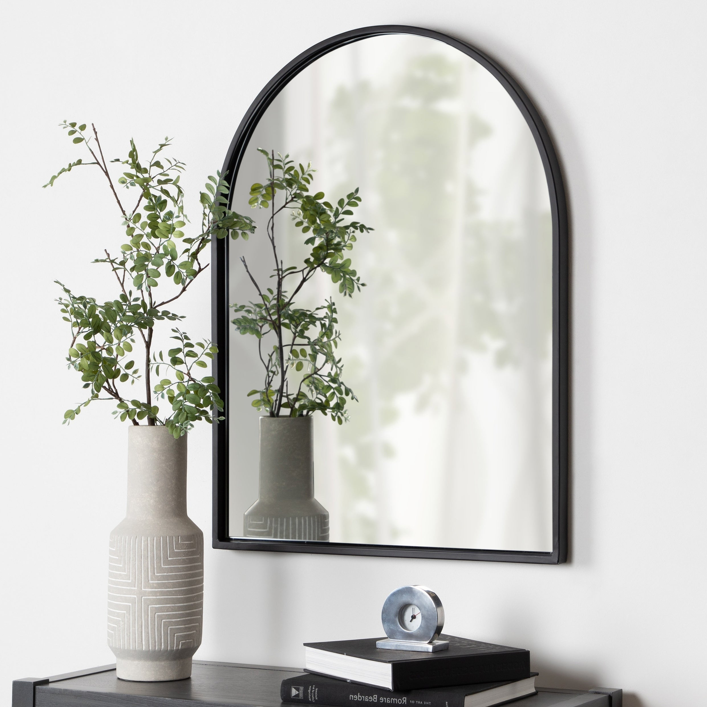 Well Liked Ekaterina Arch/crowned Top Wall Mirrors With Regard To Arch Crowned Top, Wall Mirror (View 16 of 20)