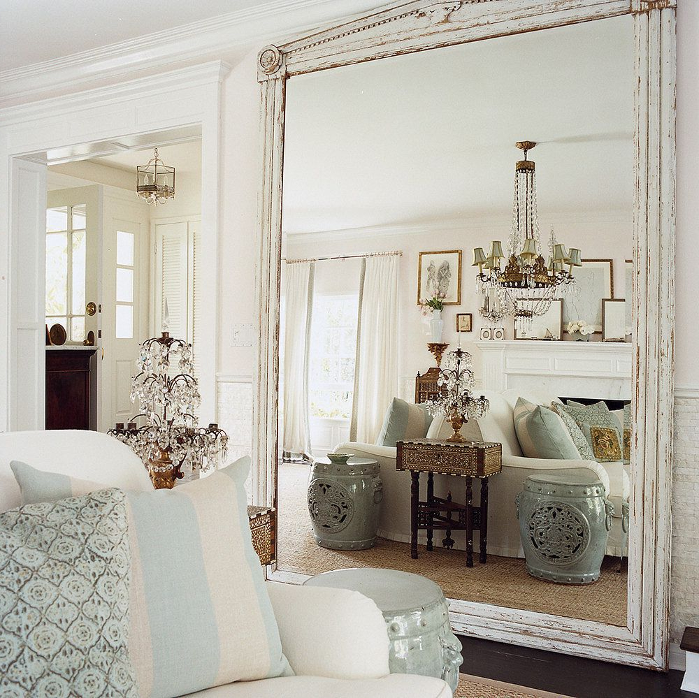 Well Liked Floor Wall Mirrors With 9 Ways To Fake Extra Square Footage With Mirrors (View 18 of 20)