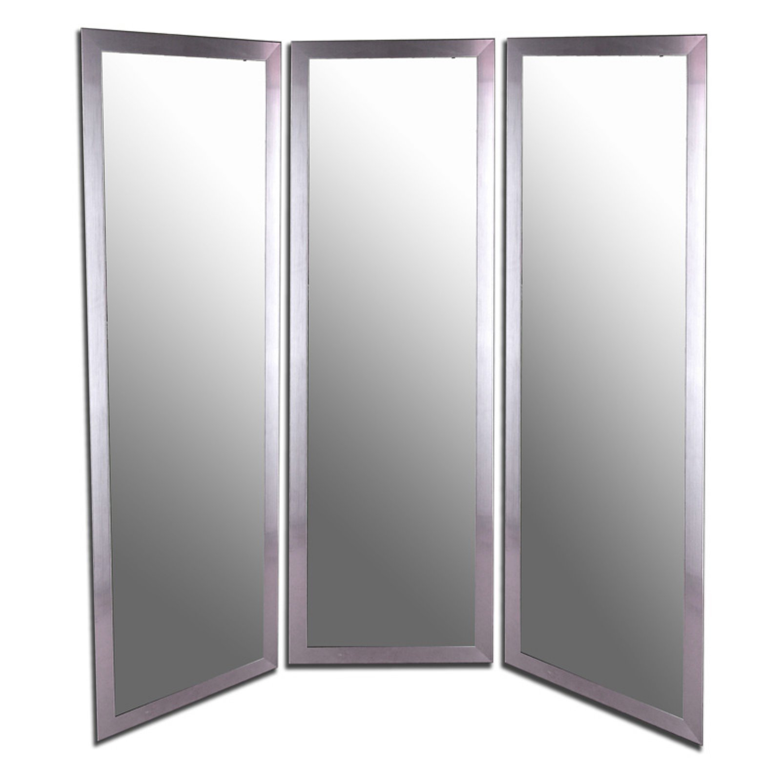 Well Liked Hitchcock Butterfield Empyrean Large 3 Panel Wall Mirror Regarding Tri Fold Wall Mirrors (View 9 of 20)