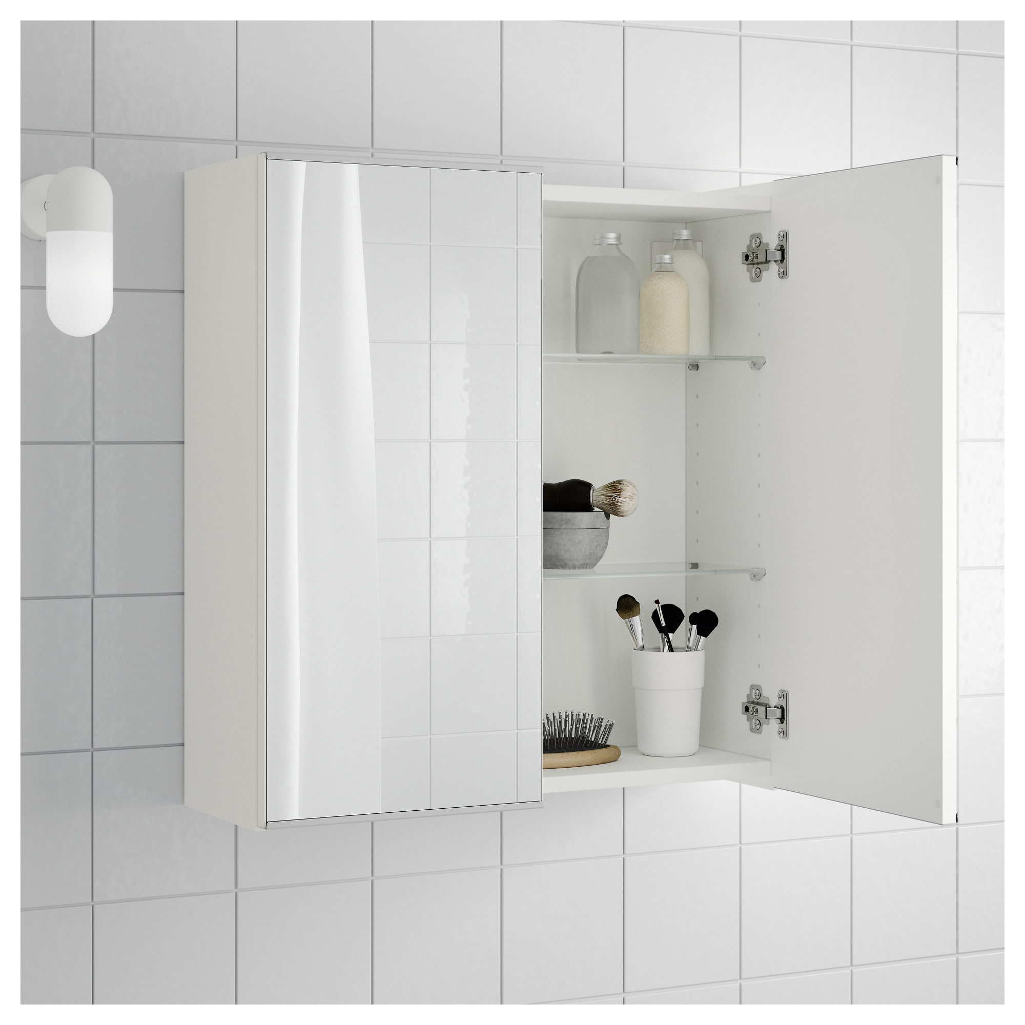 Well Liked Ikea Wall Mirrors Throughout Lillången Mirror Cabinet With 2 Doors, White (View 20 of 20)