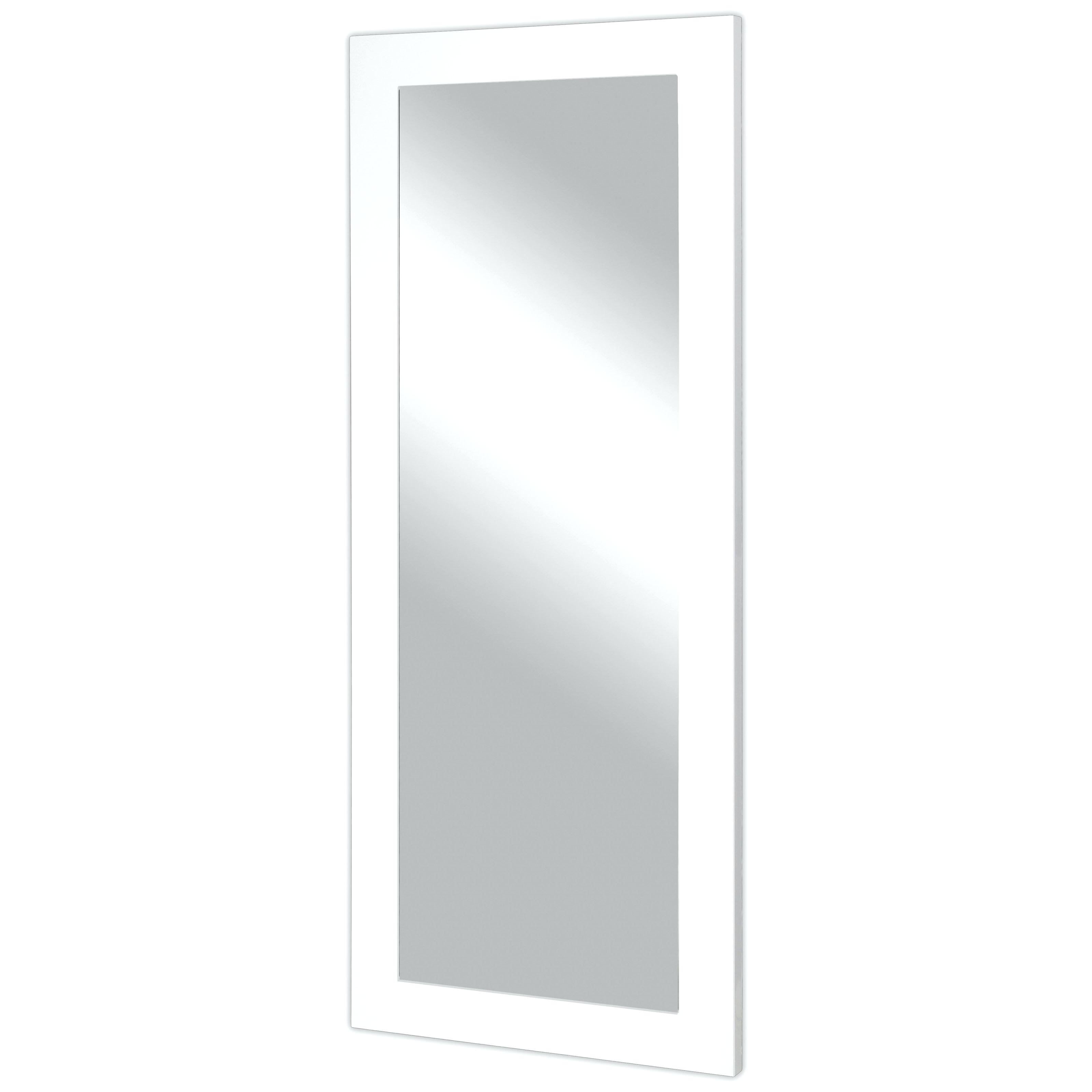 Well Liked Large Wall Mirrors Ikea Regarding Large White Wood Framed Mirrors Frame Wall Mirror Ikea New (View 19 of 20)