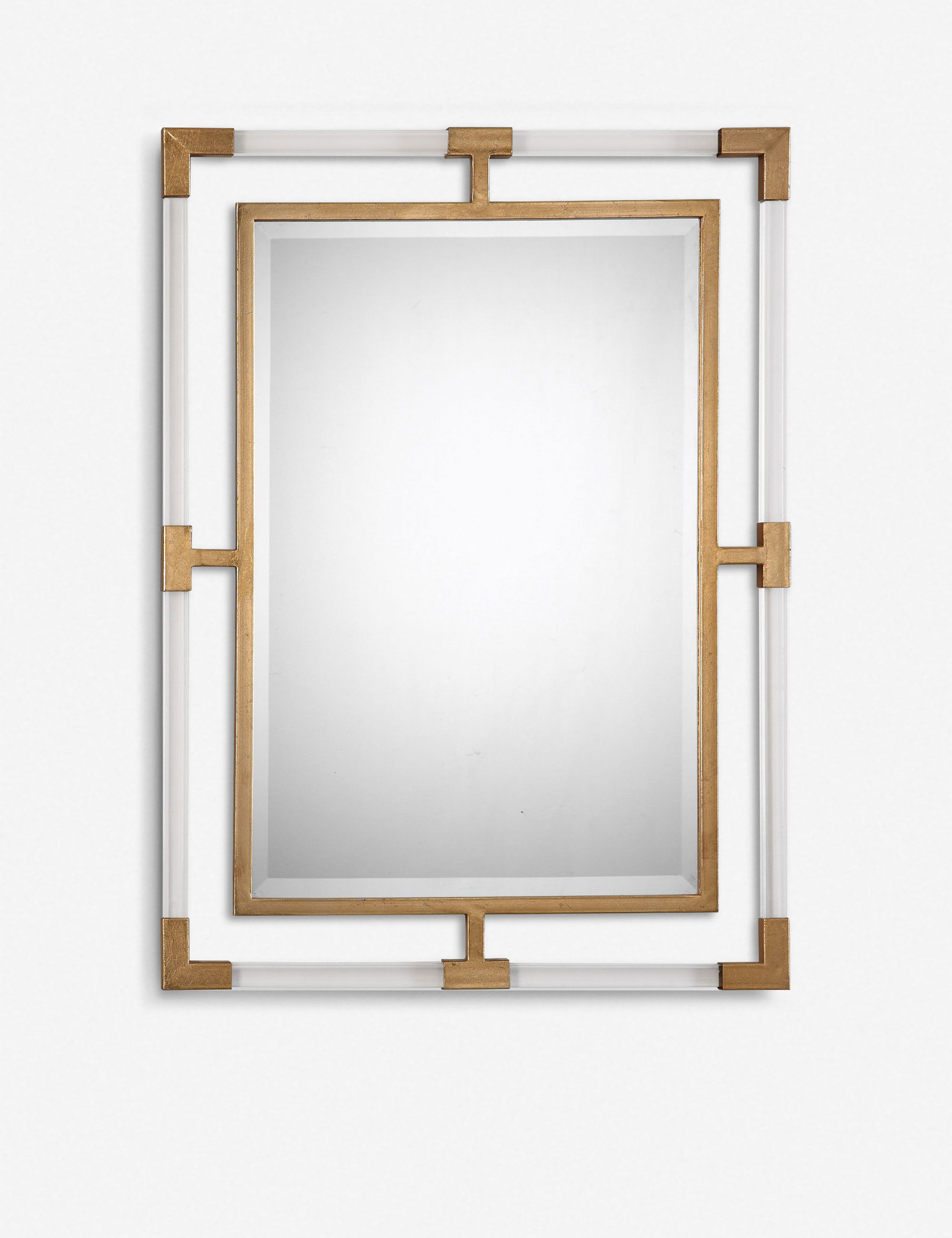 Well Liked Structure Mirror, Gold Inside Owens Accent Mirrors (View 19 of 20)